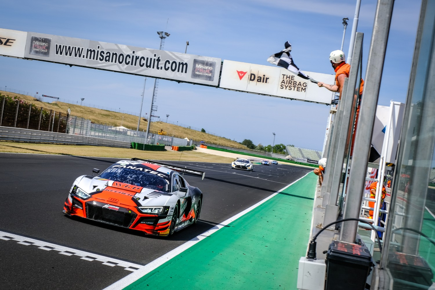Weerts and Vanthoor untouchable at Misano as Team WRT Audi earns opening race victory