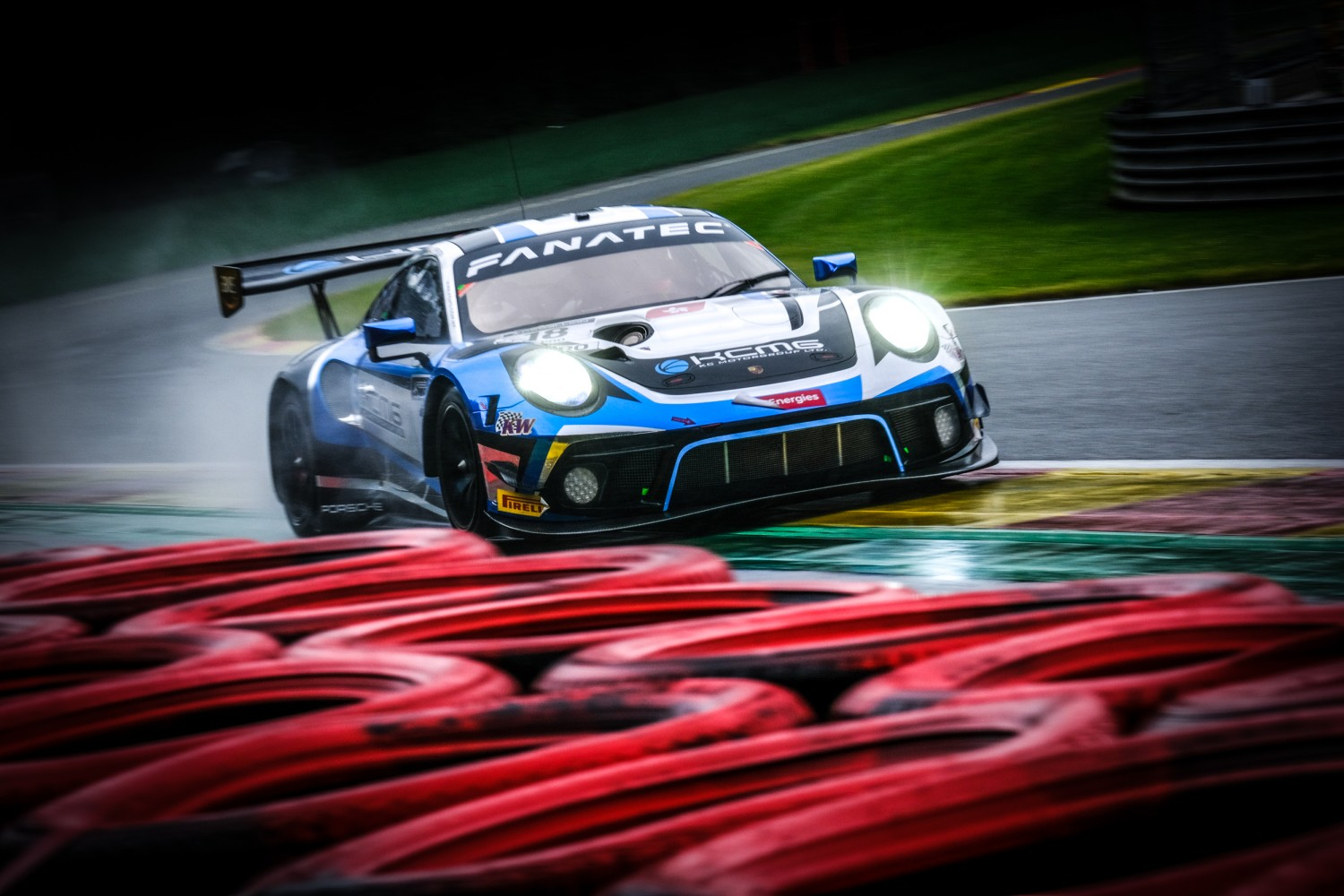 KCMG concludes opening day of official testing on top at Spa-Francorchamps