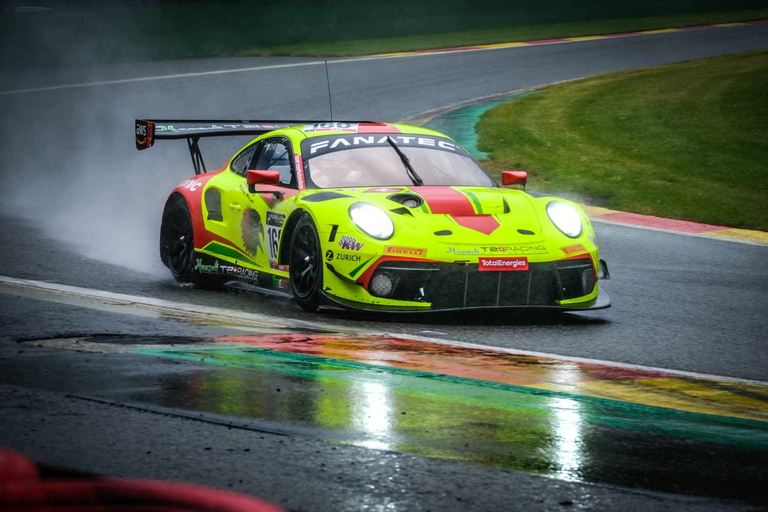 Hägeli by T2 Racing Porsche on top as Bronze Test launches 2021 TotalEnergies 24 Hours of Spa