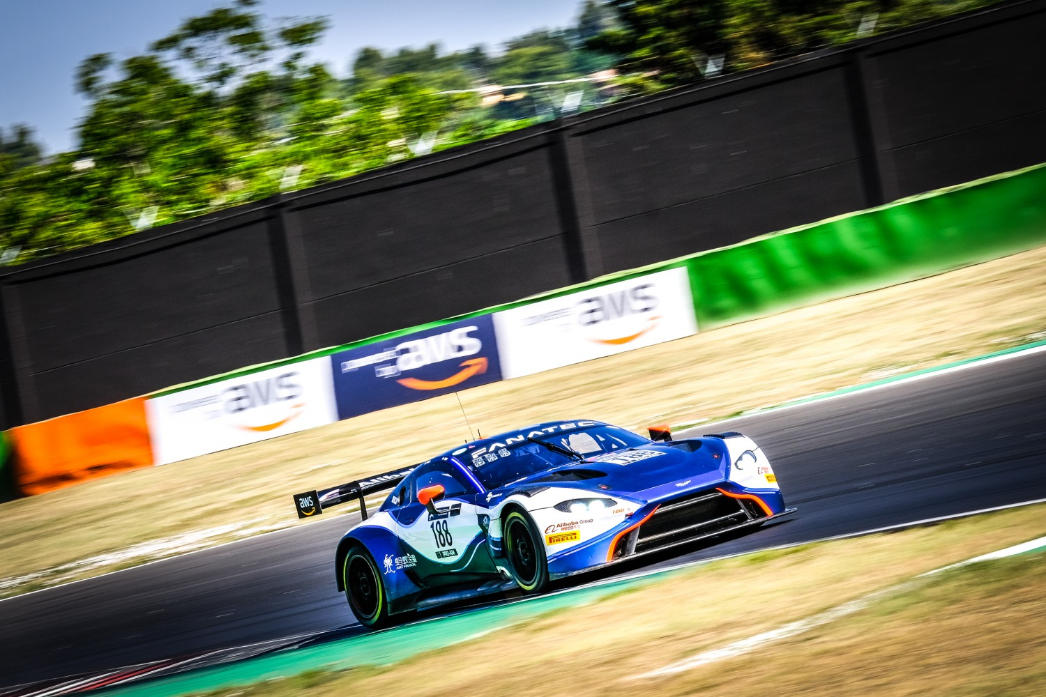 Garage 59 ace Adam gives Aston Martin maiden Sprint Cup pole with sensational qualifying performance at Misano