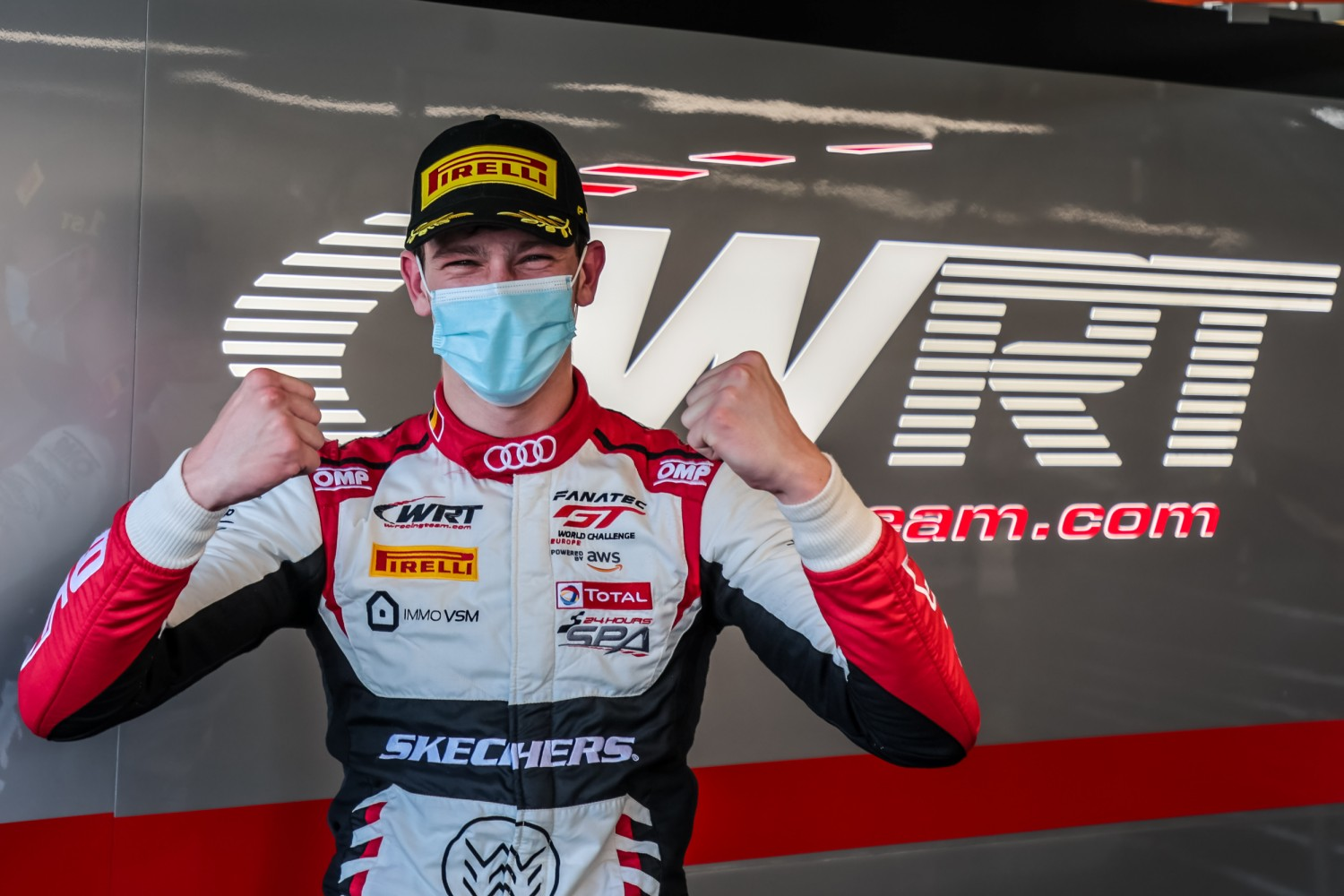 Weerts extends WRT Audi dominance at Magny-Cours with season-opening Sprint Cup pole