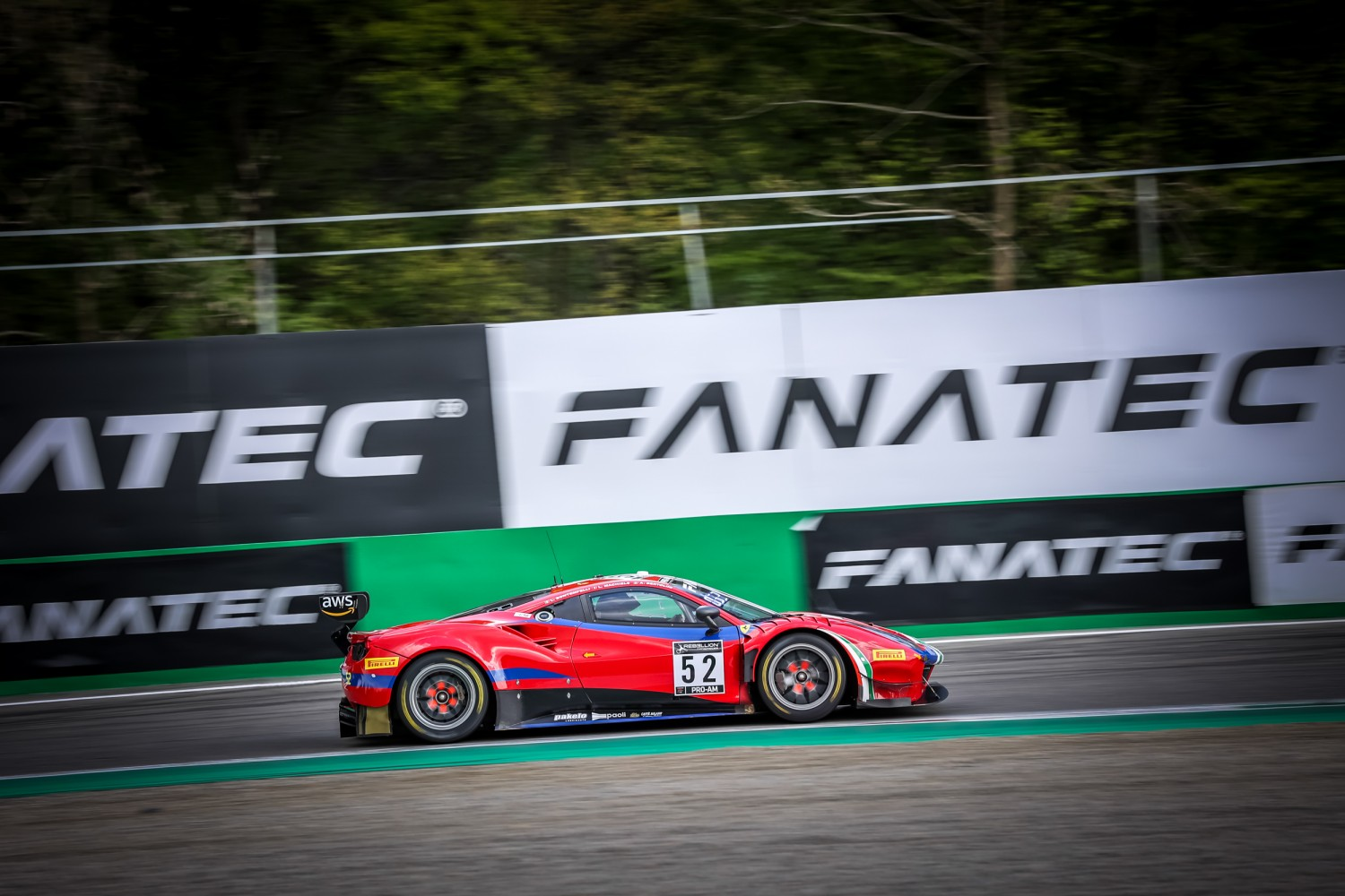 AF Corse Ferrari begins 2021 on top as Bontempelli leads Bronze Test at Monza