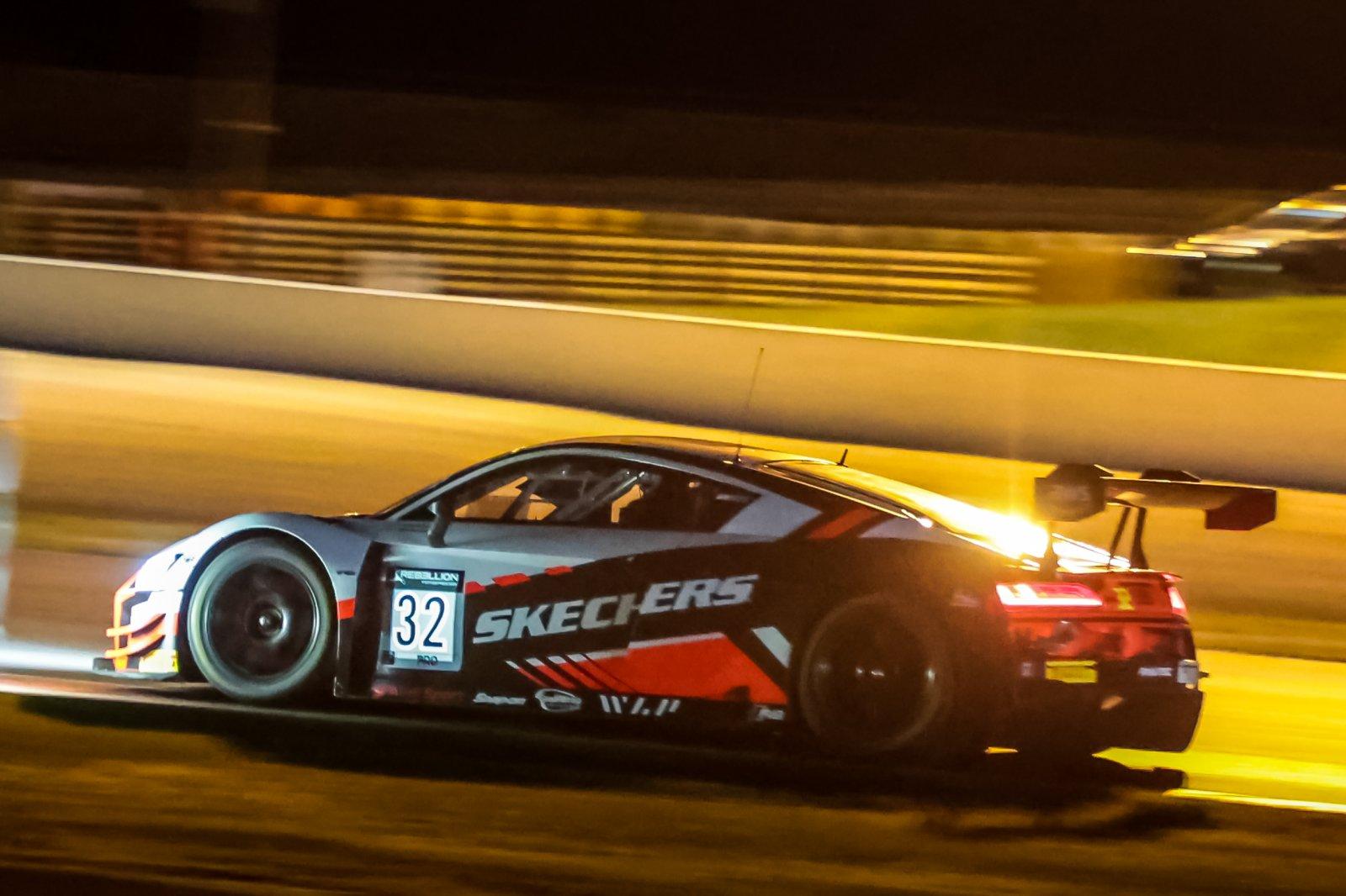 Vanthoor keeps Team WRT Audi on top after dark at Magny-Cours