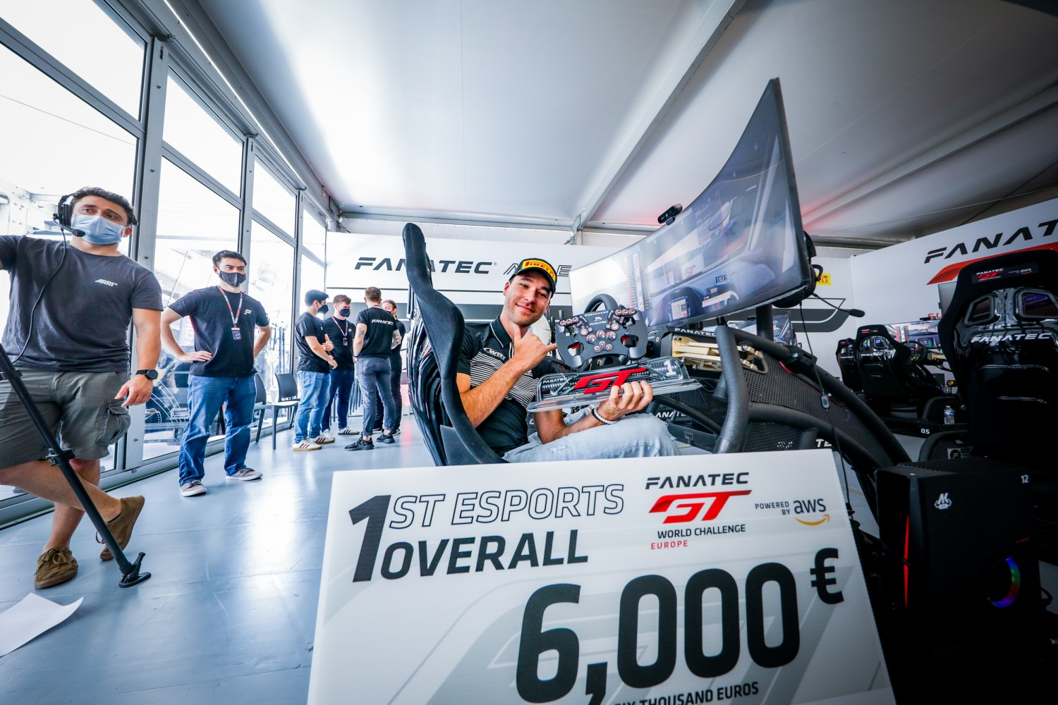Van der Linde and Varrone takes commanding Fanatec Esports GT Pro Series victory at Circuit Paul Ricard
