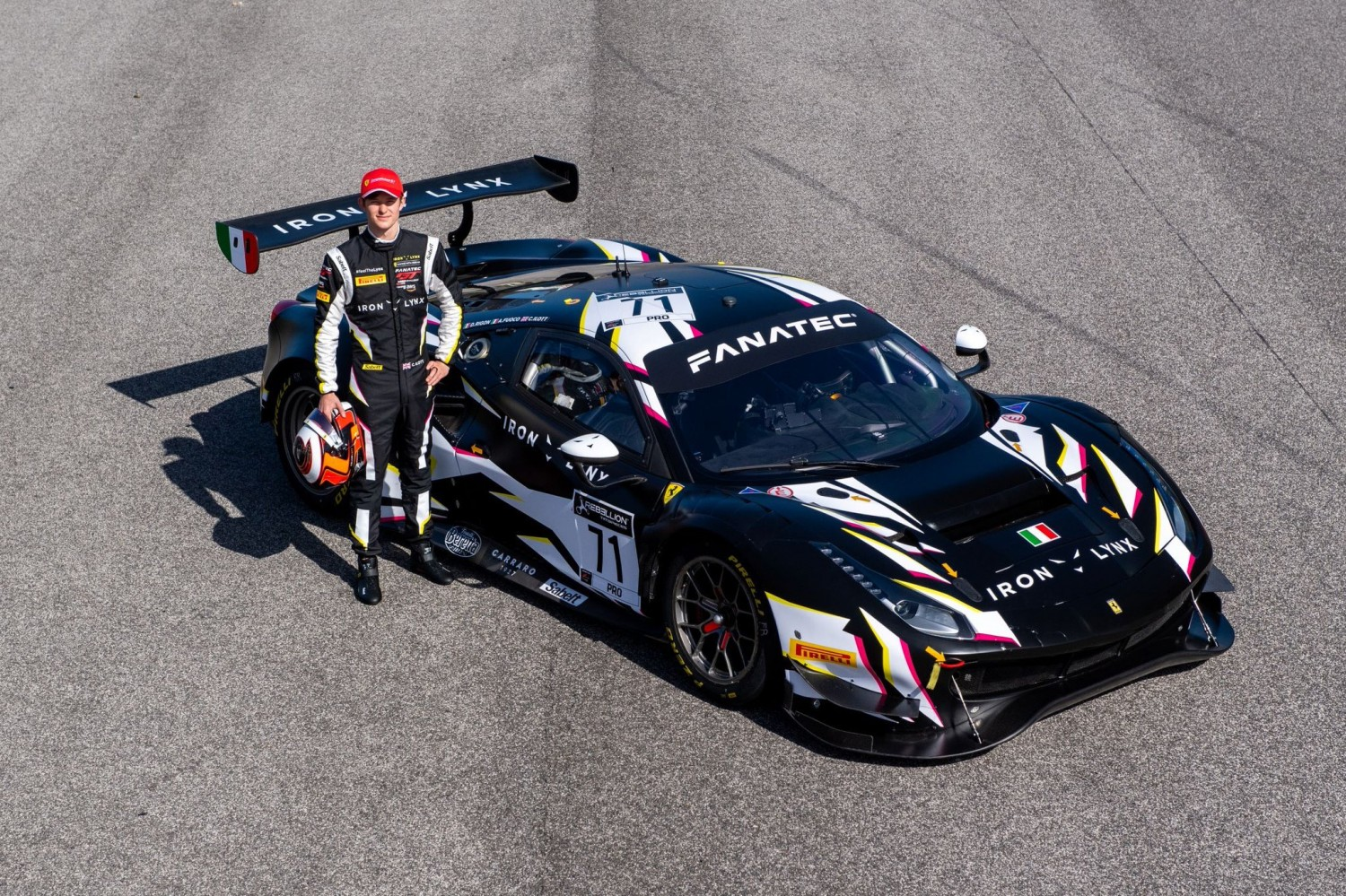Ferrari Driver Academy member Callum Ilott to make Fanatec GT World Challenge Europe Powered by AWS debut with Iron Lynx