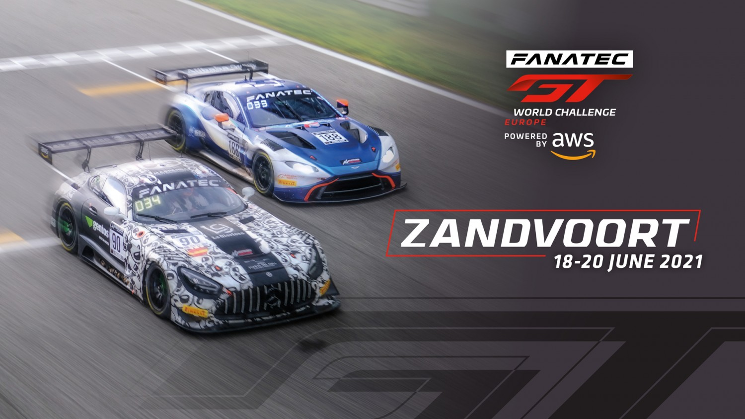 Sprint Cup takes centre stage as Fanatec GT World Challenge Europe Powered by AWS plots a course for Zandvoort
