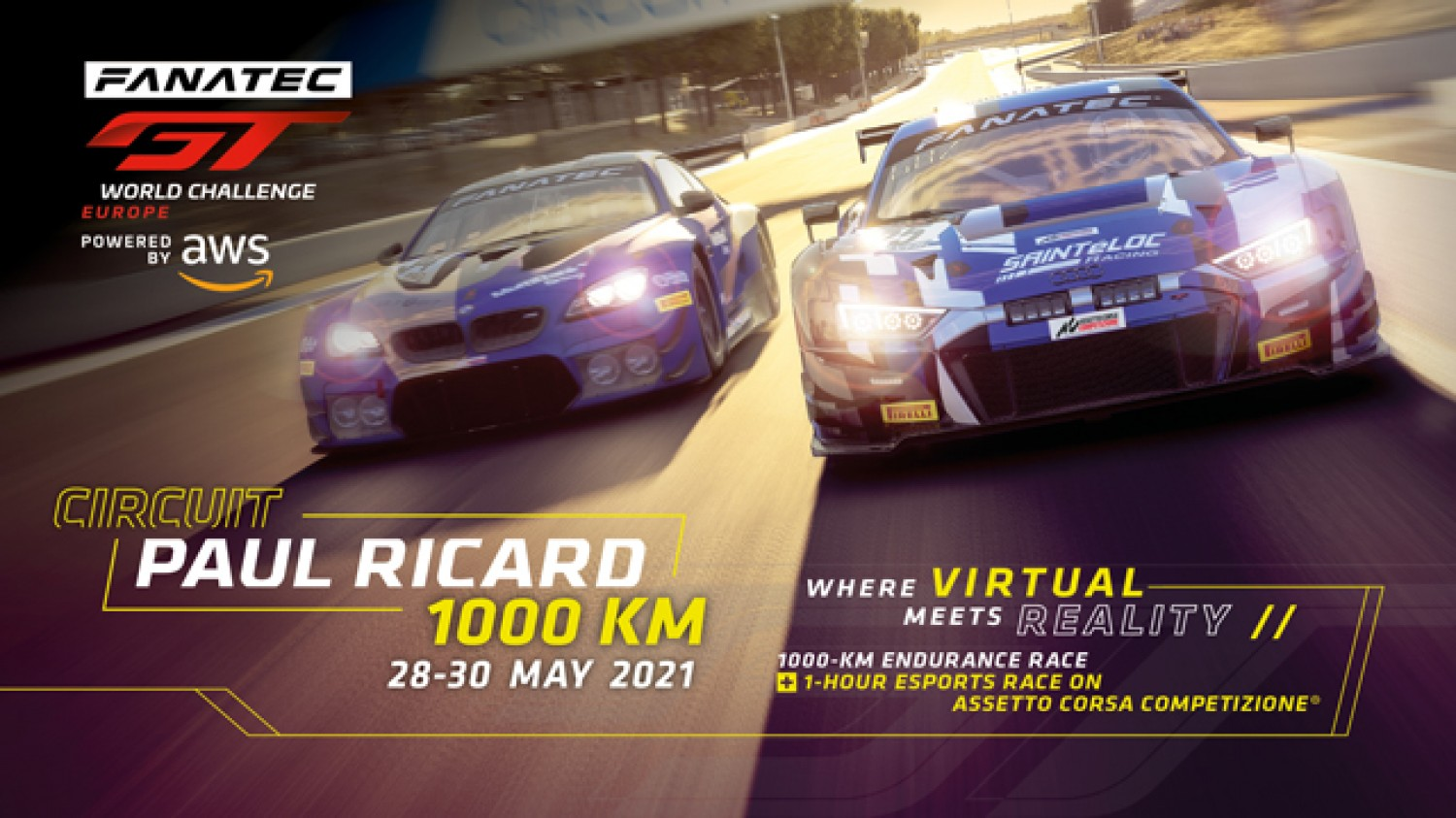 Expanded 47-car Endurance Cup field prepares to tackle Circuit Paul Ricard 1000km