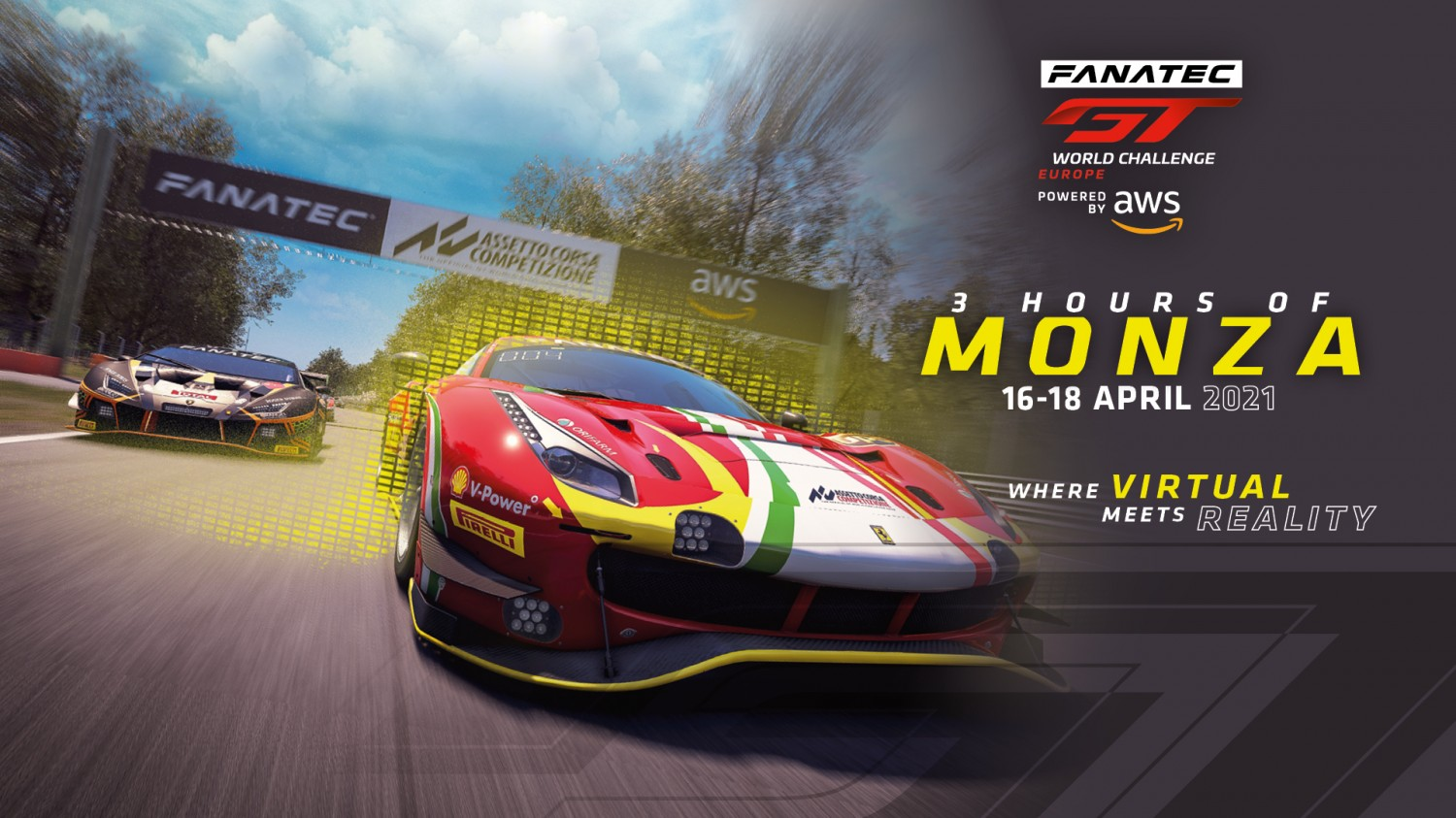 Fanatec GT World Challenge Europe Powered by AWS returns to Monza for 2021 season launch