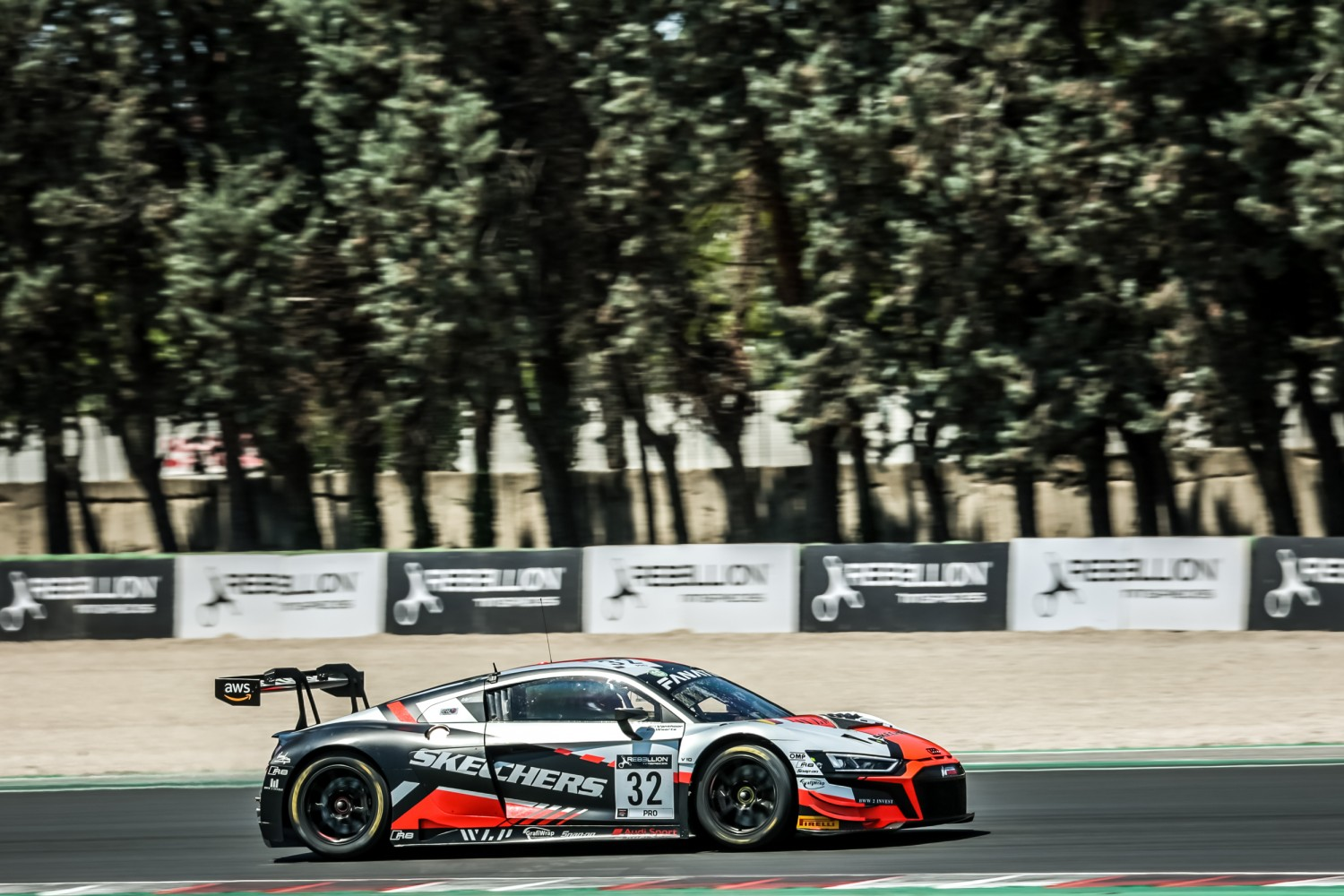 Weerts puts Team WRT Audi on top in opening practice at Misano