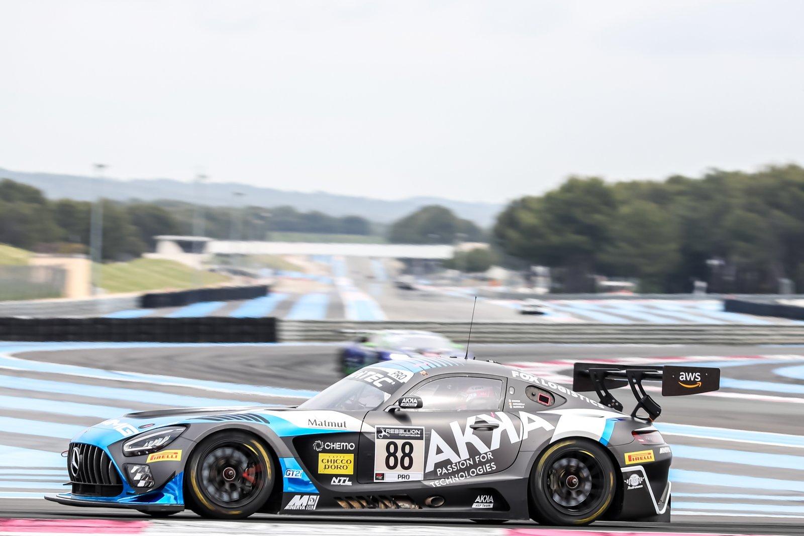 AKKA ASP Mercedes-AMG on top in Circuit Paul Ricard free practice