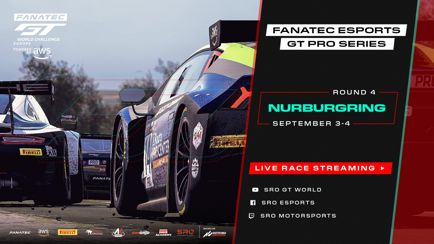 Fanatec Esports GT Pro Series gears up for The Green Hell