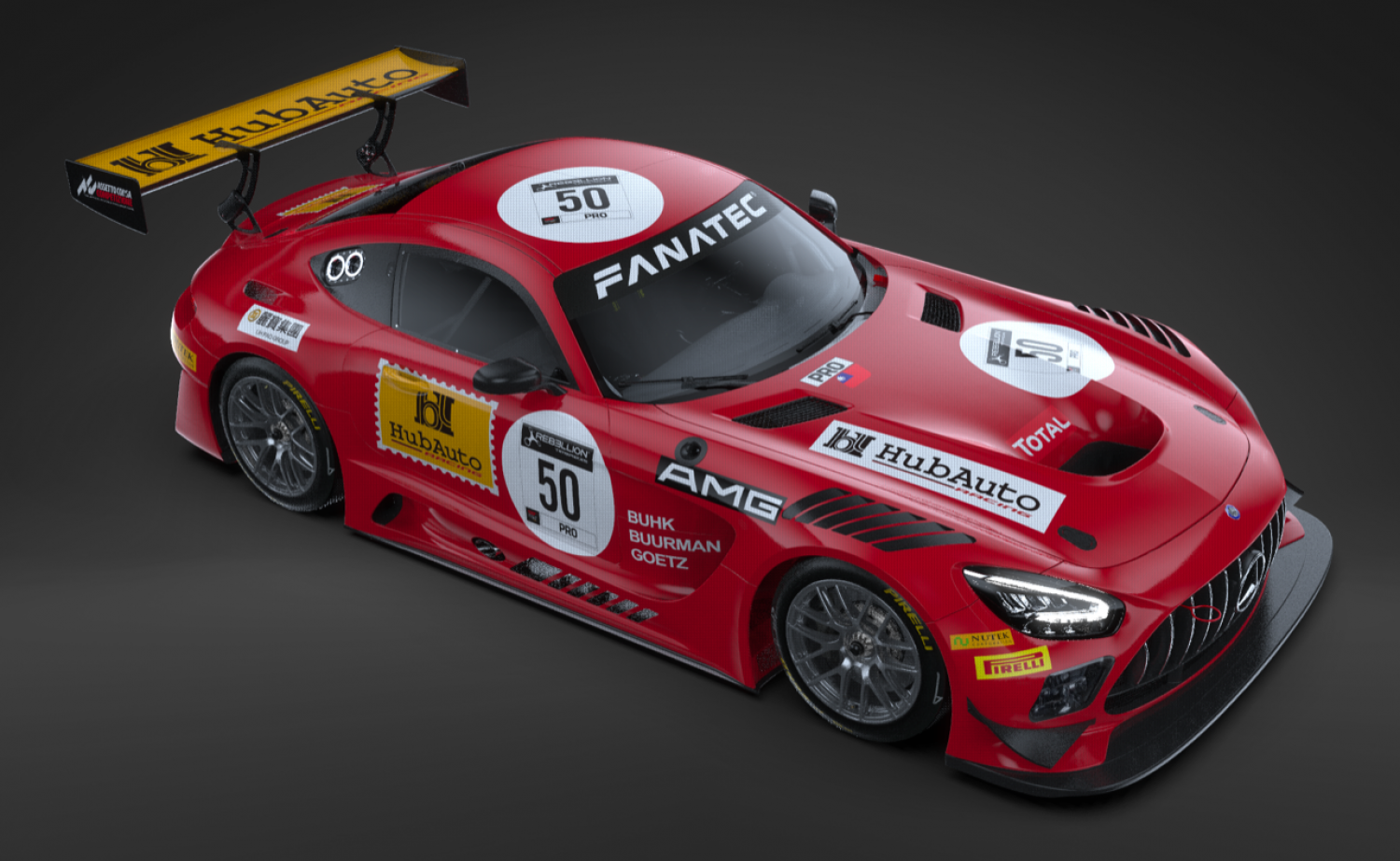 """HubAuto Racing to enter the TotalEnergies 24 Hours of Spa with """"The Legend of Spa"""" 50th Anniversary Livery"""