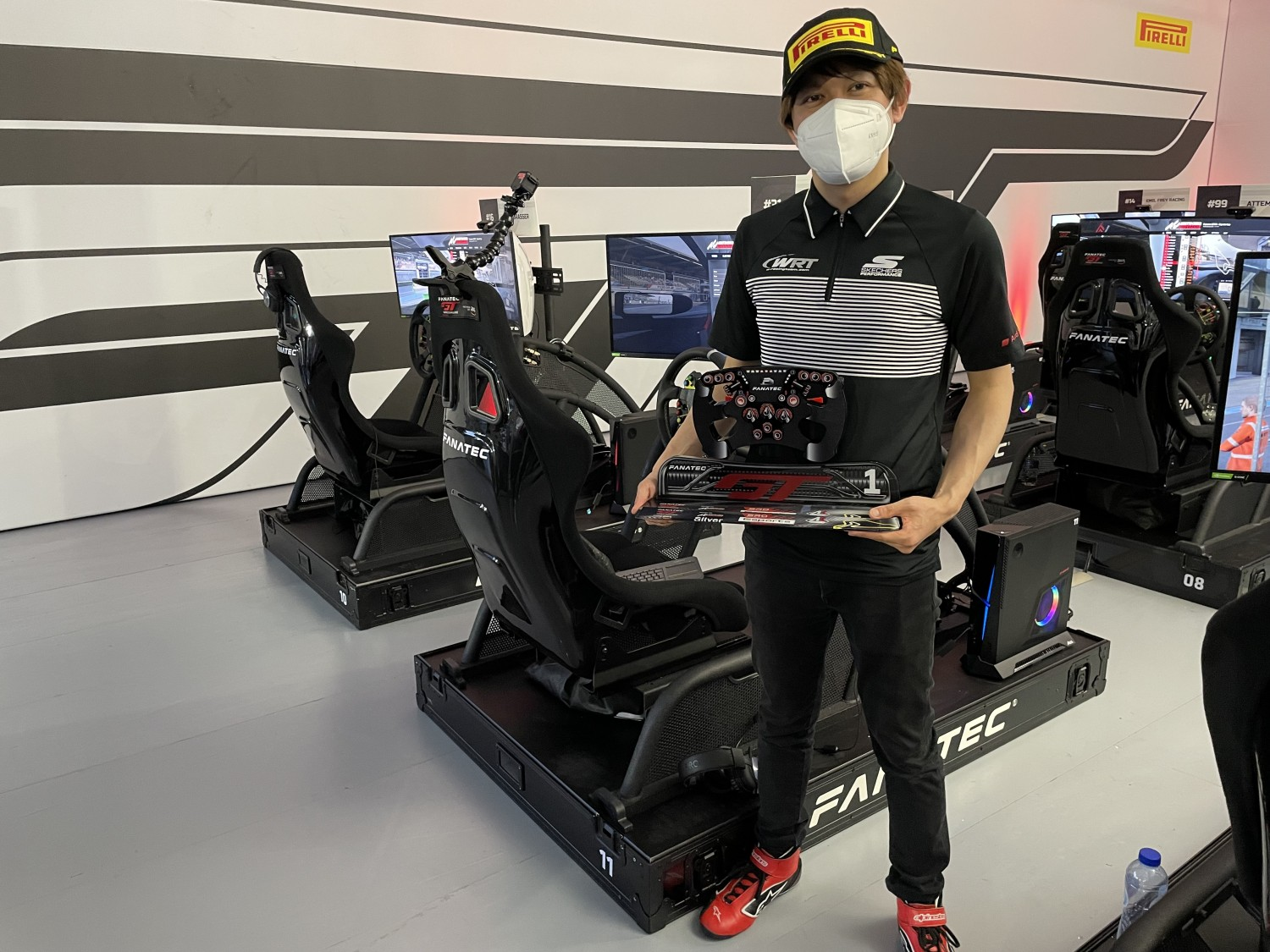 Esports: Tomita charges to overall victory as Rougier wraps up Pro title at the Nurburgring