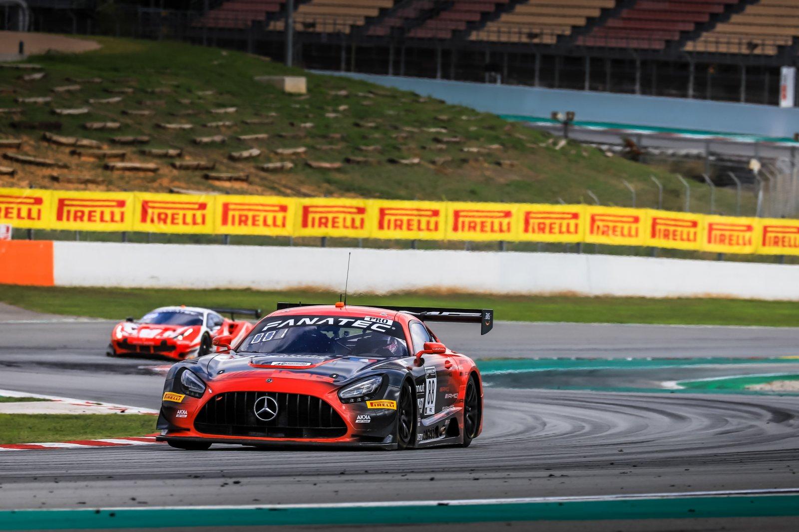 Mercedes-AMG completes perfect Saturday at Circuit de Barcelona-Catalunya
