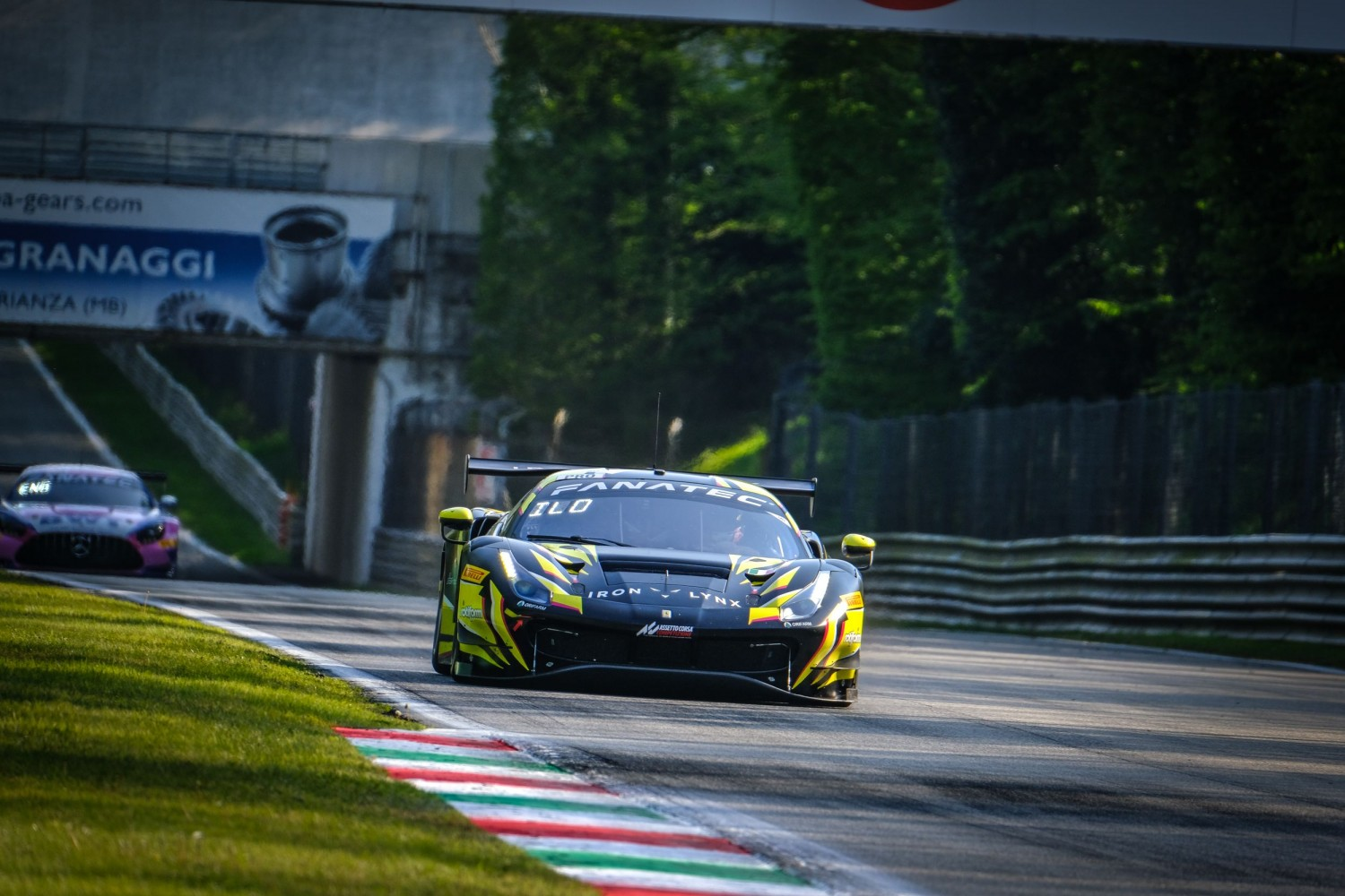 Fuoco flies as Iron Lynx Ferrari tops opening Monza practice