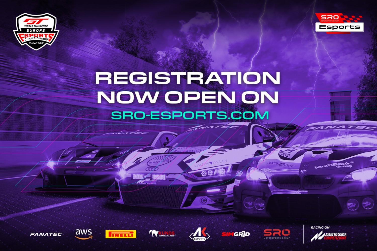GT World Challenge Esports registration now open