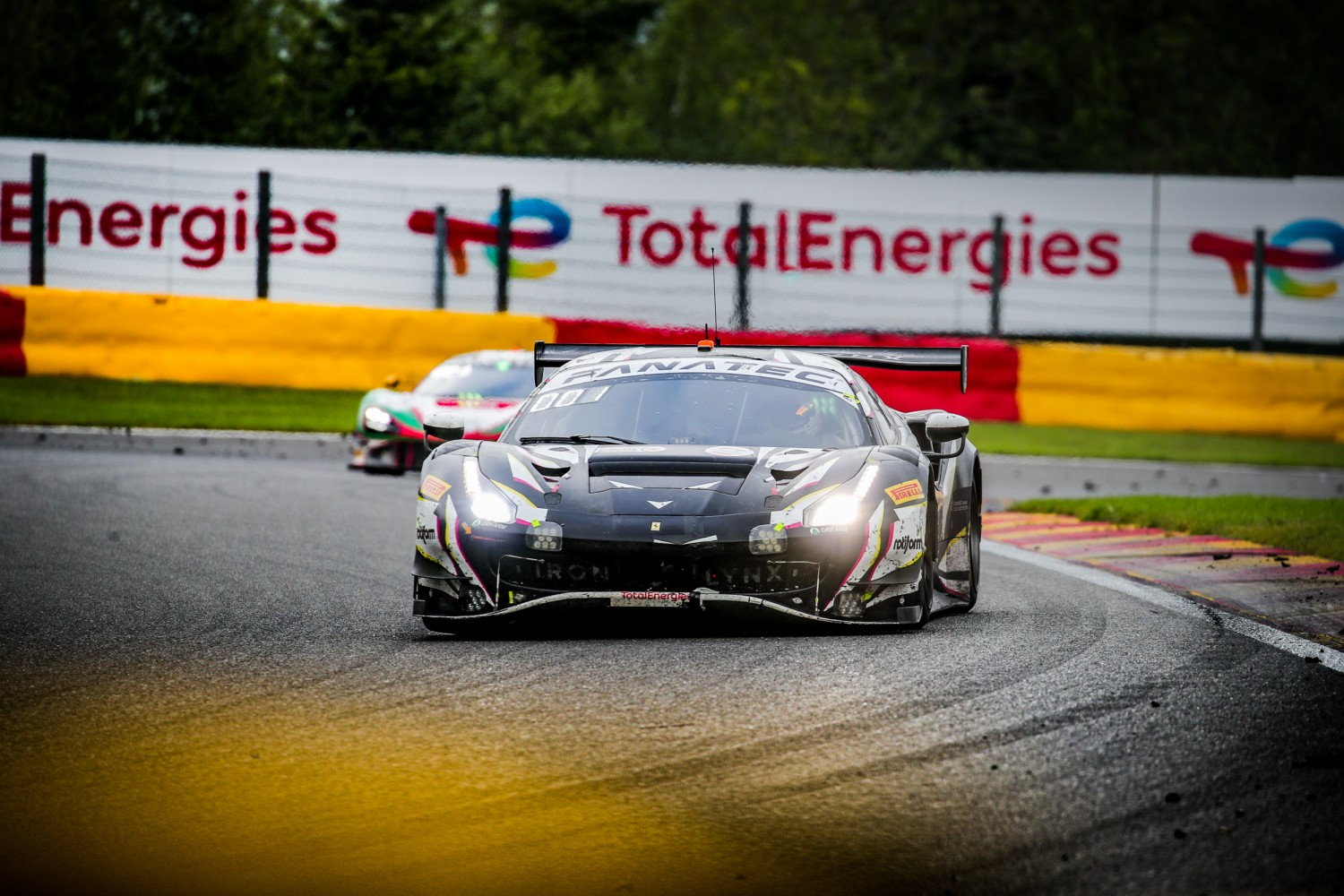 Iron Lynx Ferrari takes an option on win in 2021 TotalEnergies 24 Hours of Spa