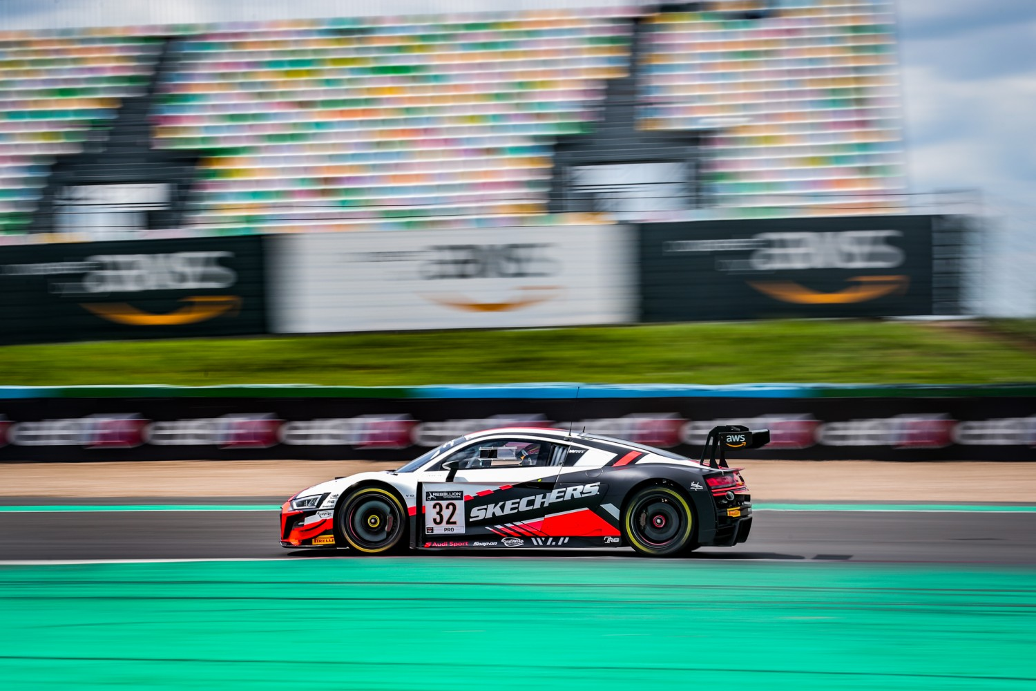 Vanthoor hits the ground running to put WRT Audi on top in Magny-Cours free practice