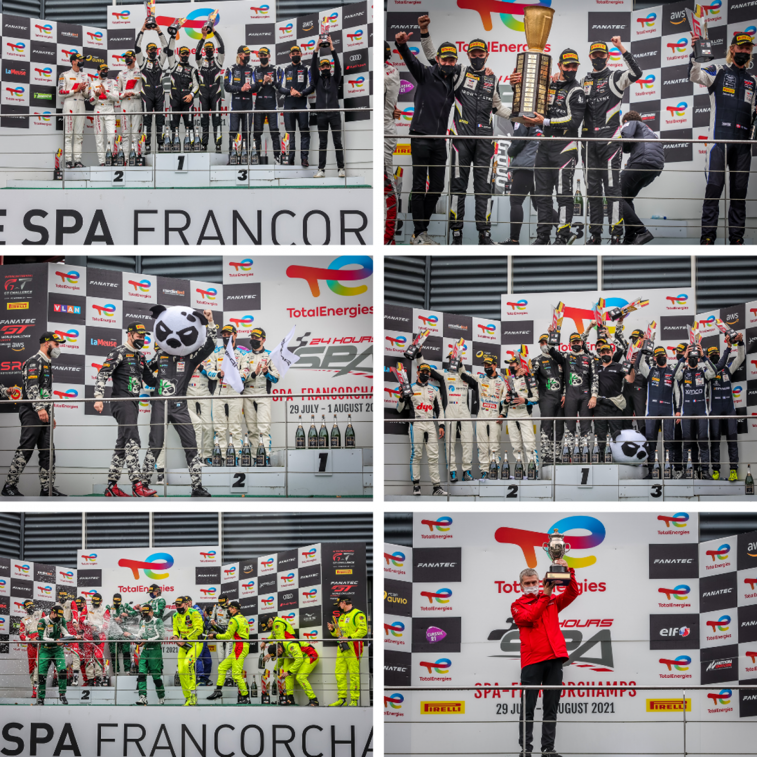 The 2021 TotalEnergies 24 Hours of Spa Roundup