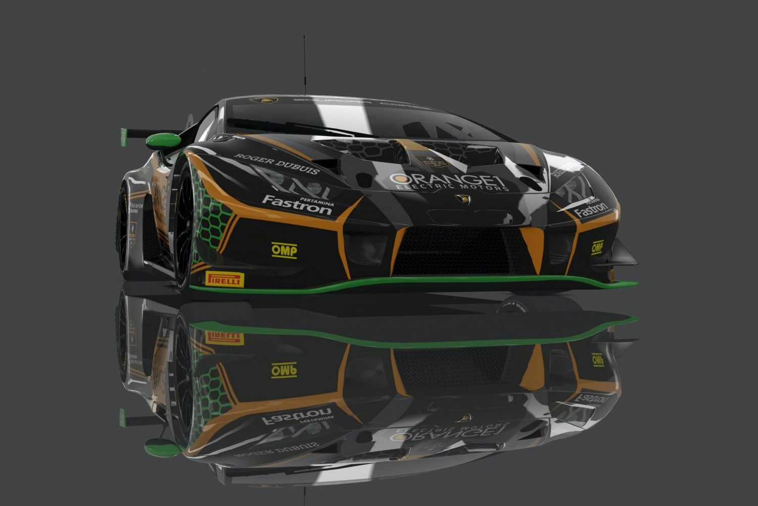 Orange1 FFF Racing commits to Total 24 Hours of Spa with trio of Lamborghini factory stars