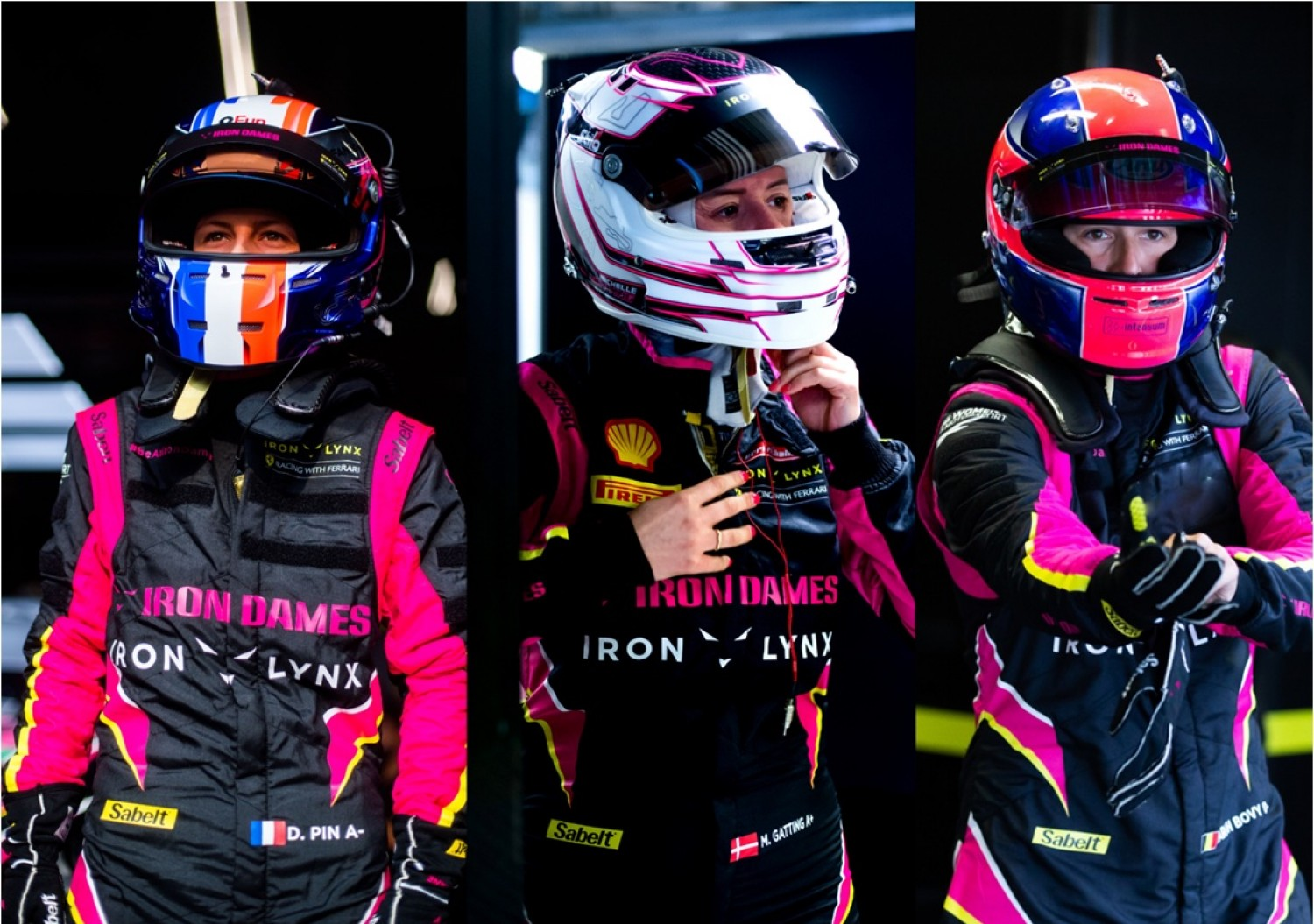 Iron Dames joins Fanatec GT World Challenge Europe Powered by AWS finale in Barcelona