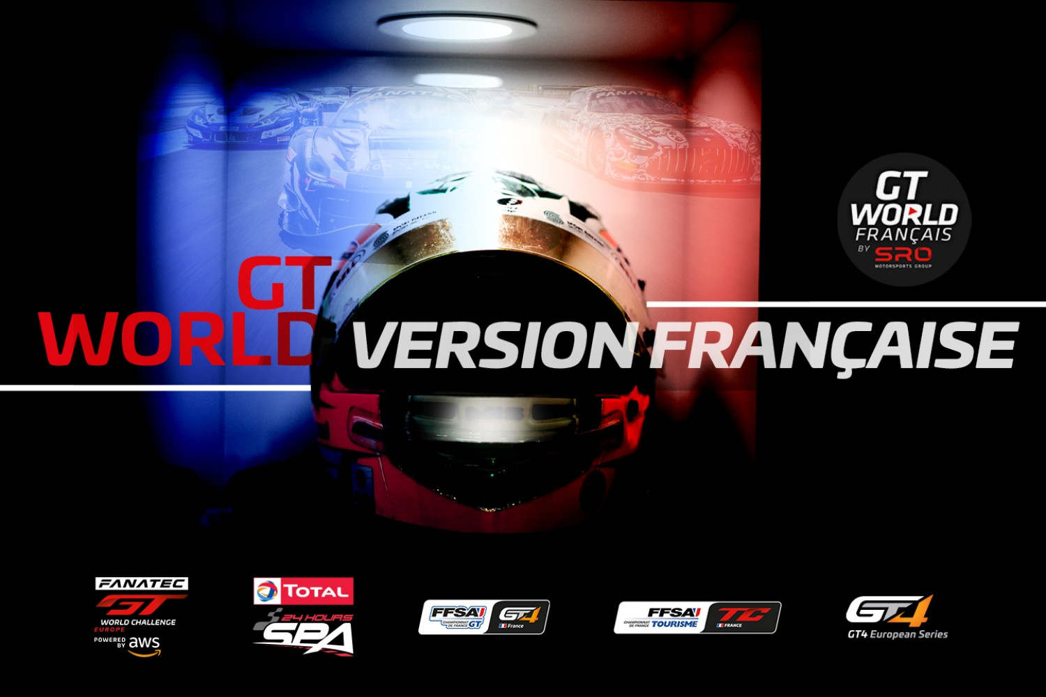 SRO Motorsports Group lance GTWorld Français sur YouTube