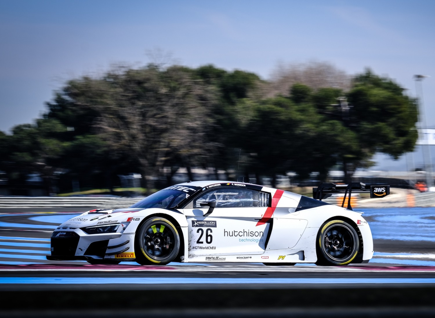Sainteloc Racing Audi tops opening day of testing at Circuit Paul Ricard to launch 2021 season