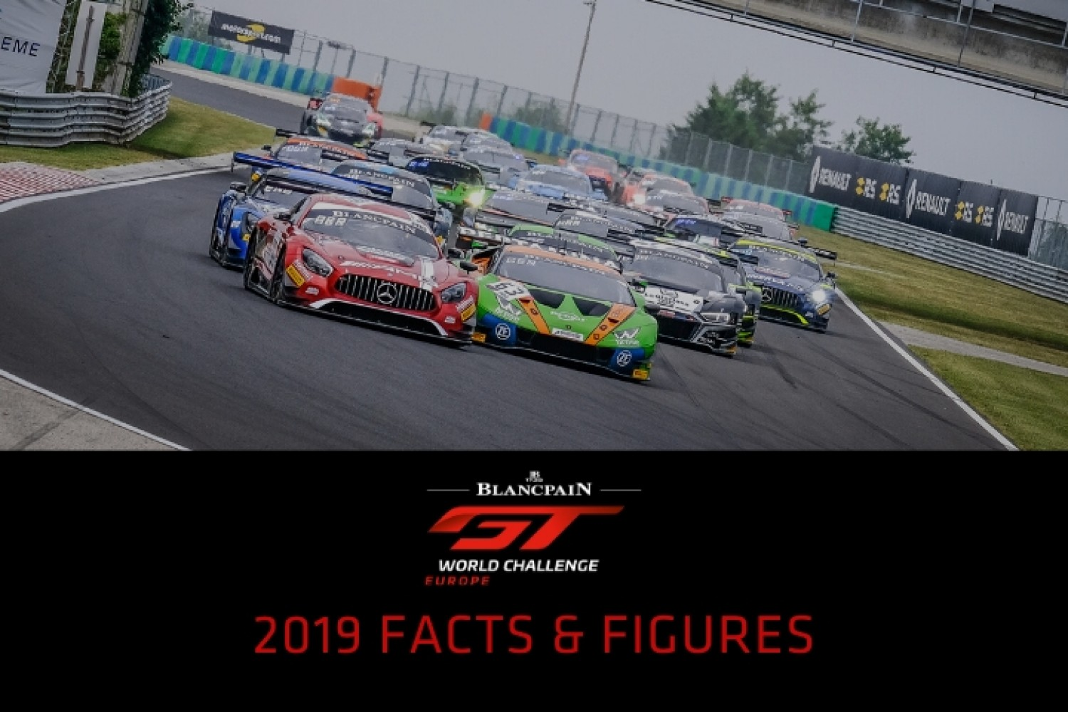 The 2019 Blancpain GT World Challenge Europe season in statistics