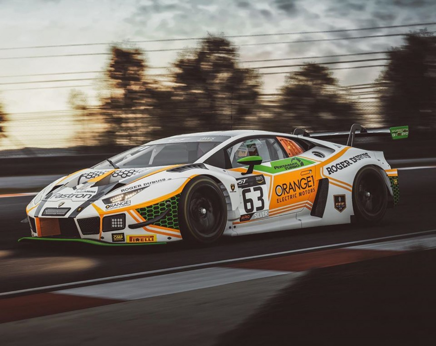 FFF Esports confirms successful virtual racers for real-world Lamborghini test