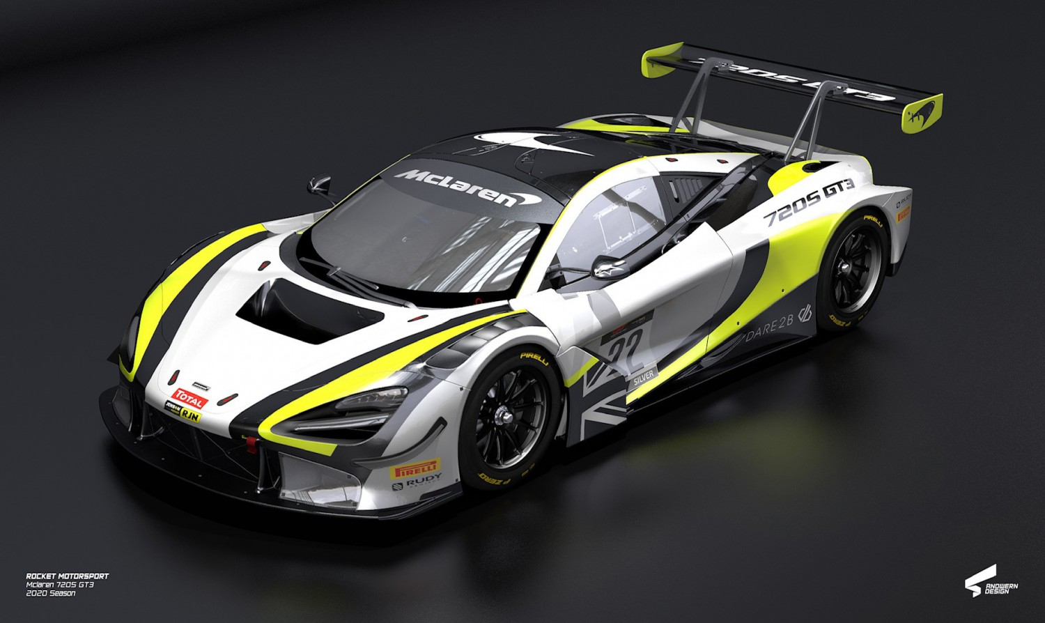 Jenson Team Rocket RJN confirms new McLaren partnership for 2020 Endurance Cup