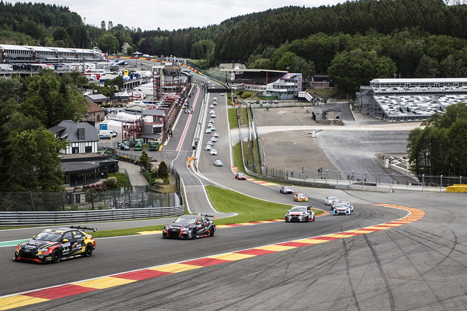 TCR Europe Series joins Total 24 Hours of Spa support package