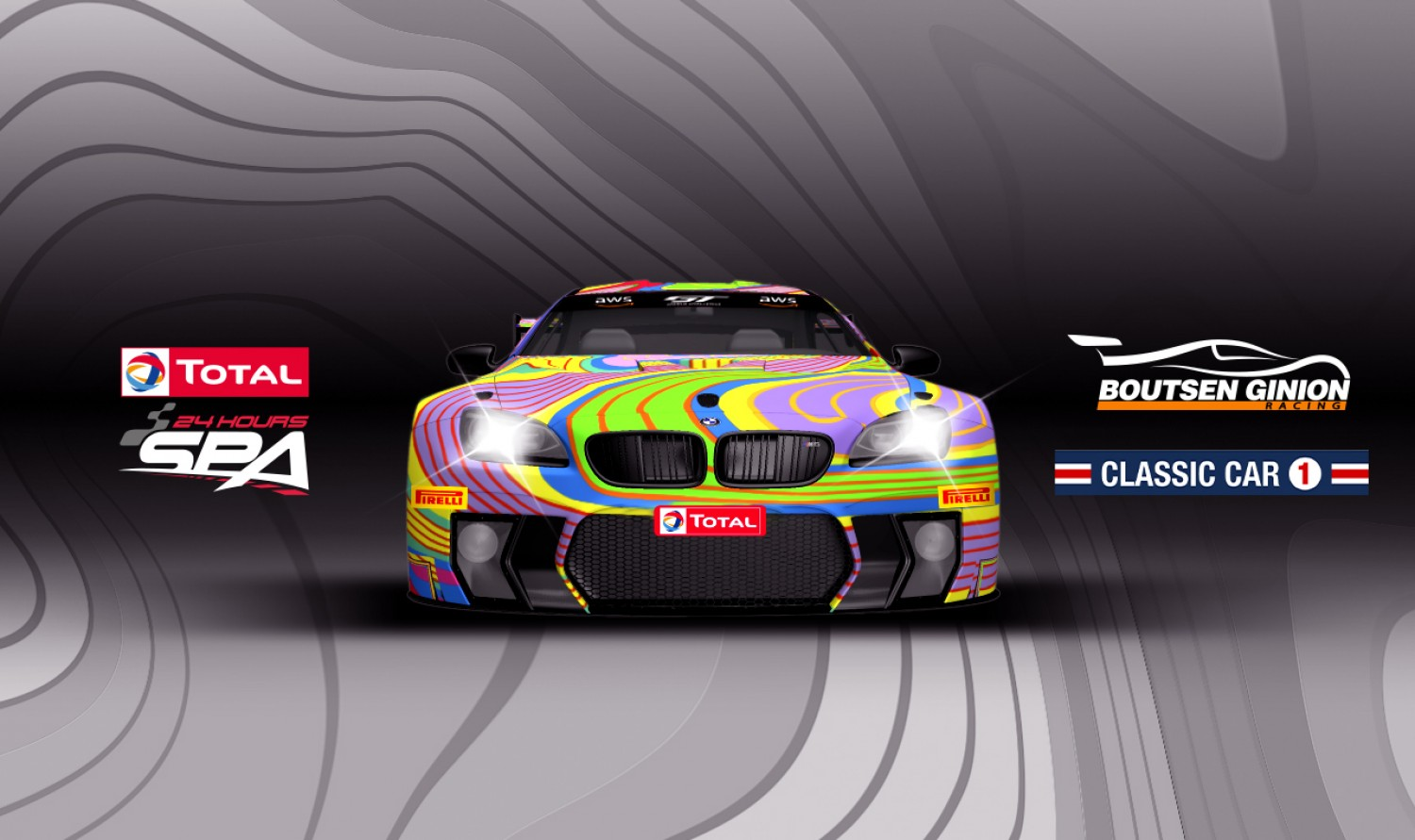 "Boutsen Ginion Racing to field ""art car"" at upcoming Total 24 Hours of Spa"