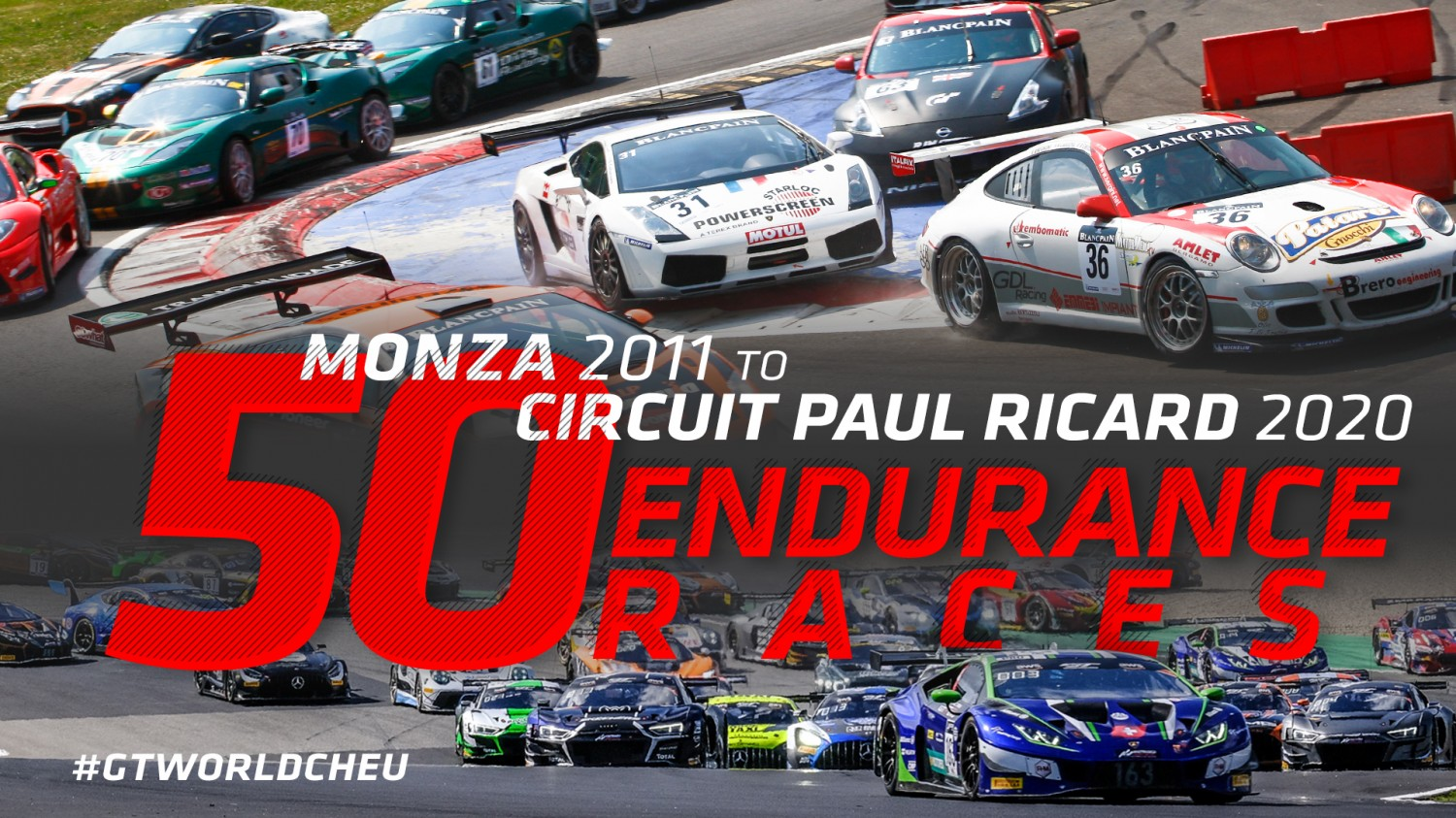 Endurance Cup to celebrate landmark 50th race at Circuit Paul Ricard