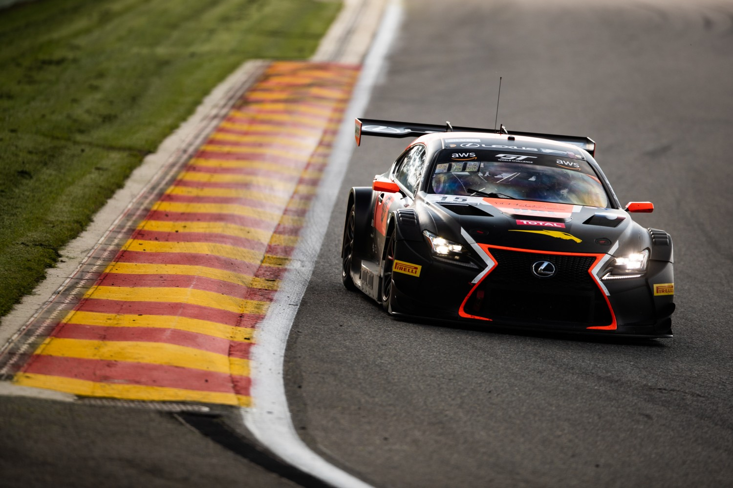 Tech1 Racing Lexus tops afternoon test session at Spa