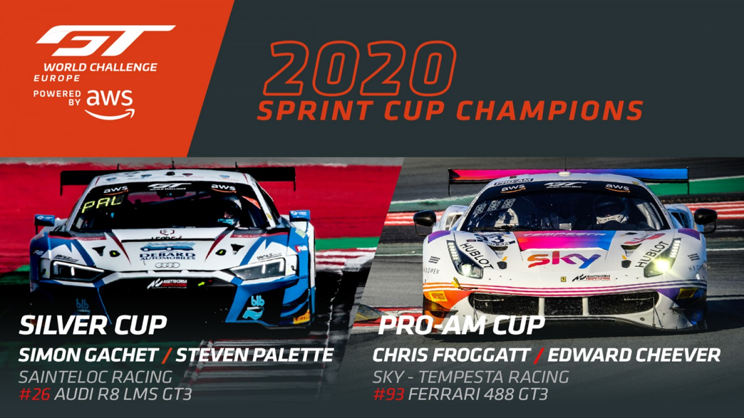 Silver and Pro-Am titles decided in penultimate Sprint Cup contest
