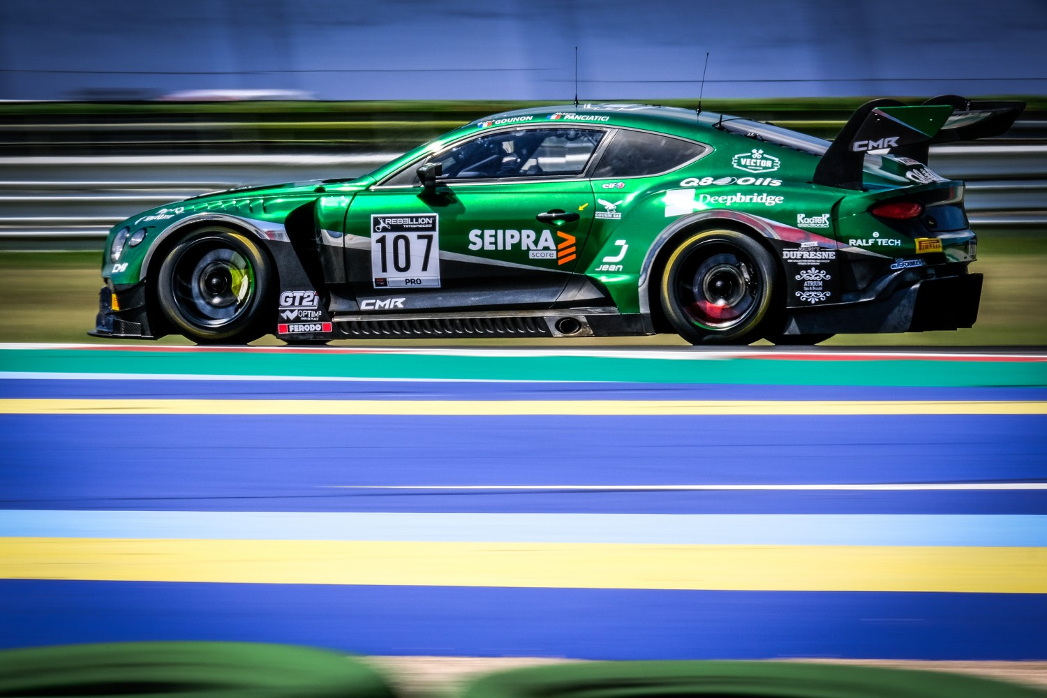 Bentley confirms five Continental GT3s for Total 24 Hours of Spa