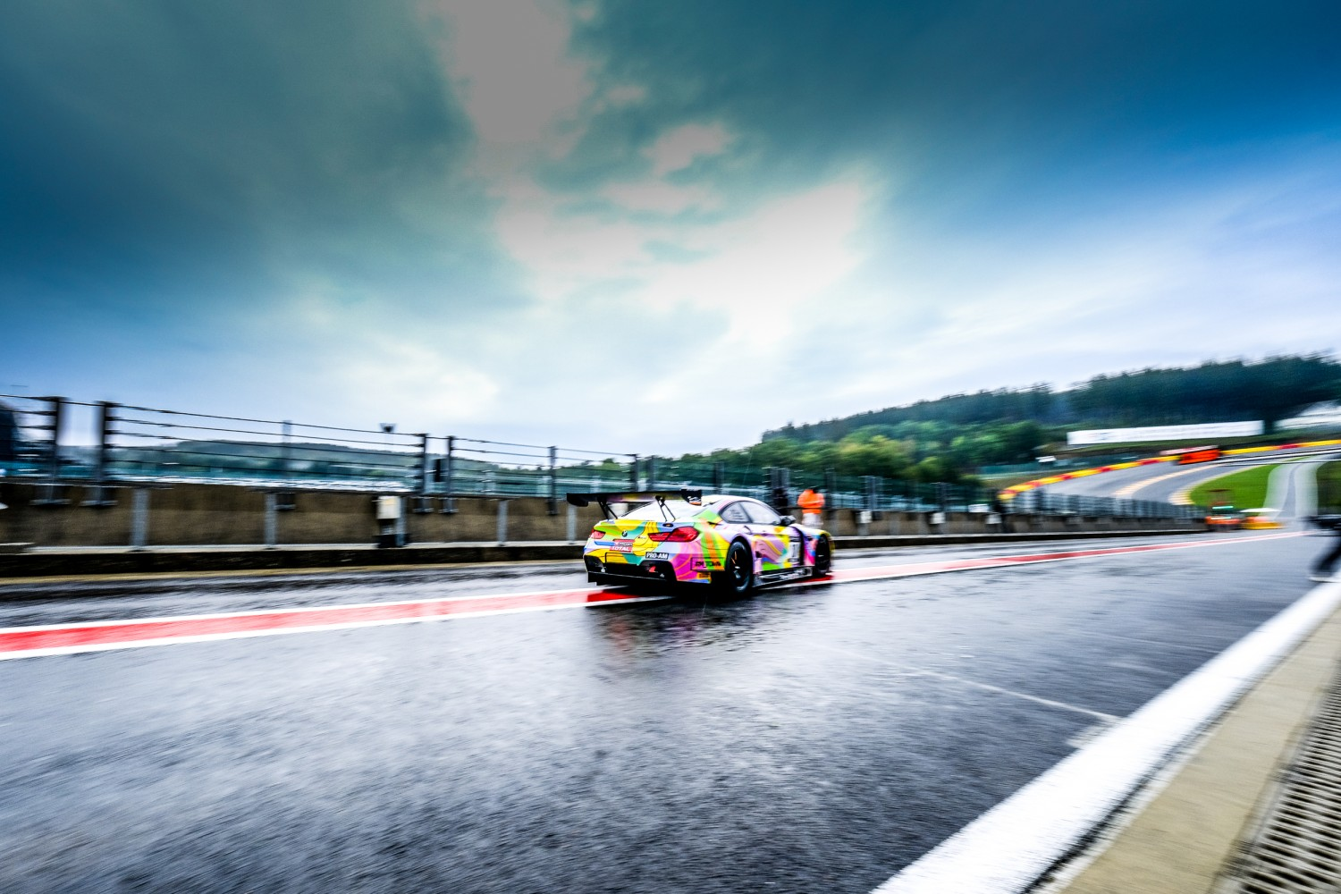 Spa-Francorchamps comes alive as Total 24 Hours of Spa test days get underway