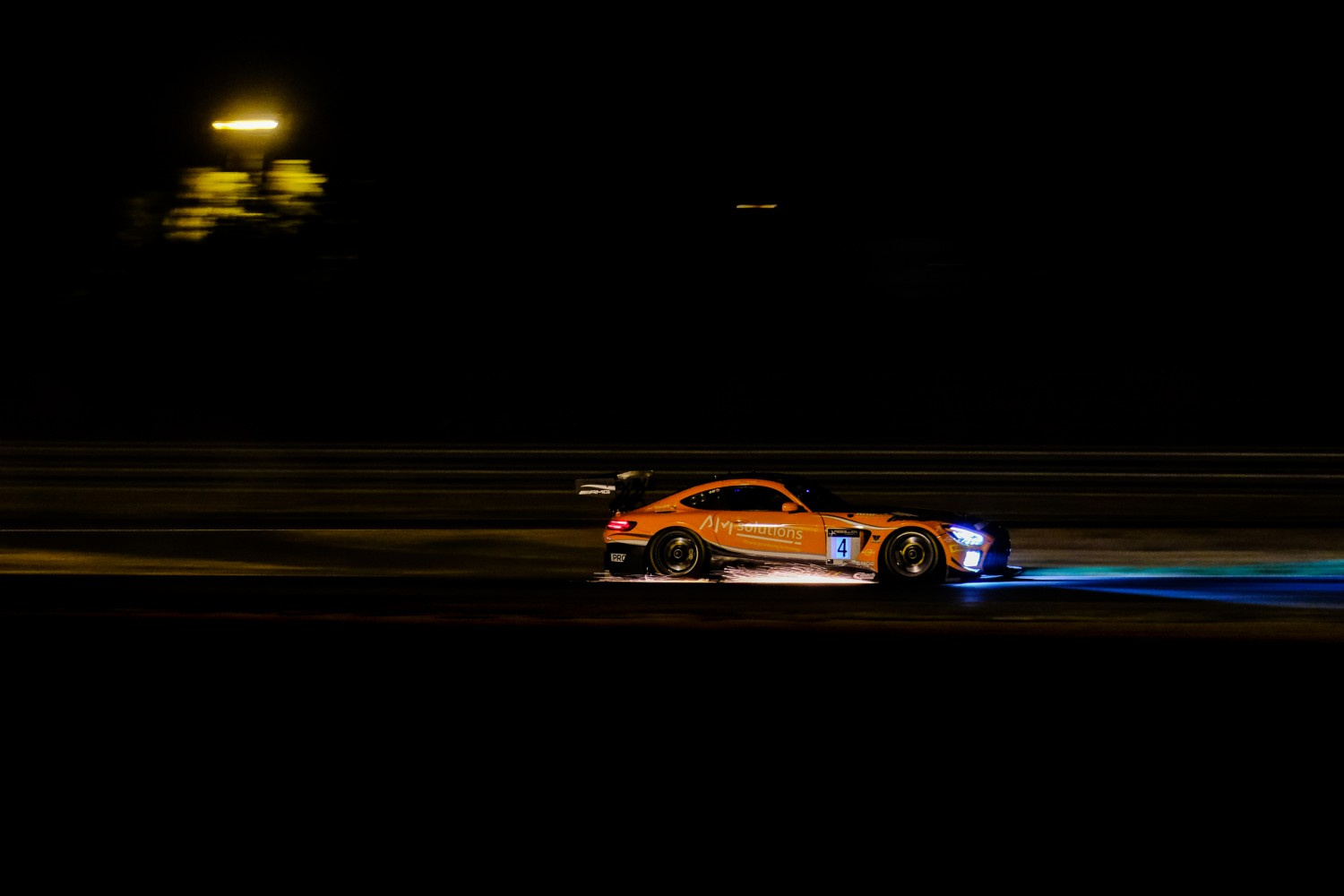 Stolz and Engel dominate Magny-Cours night race to secure maiden win for HRT Mercedes-AMG