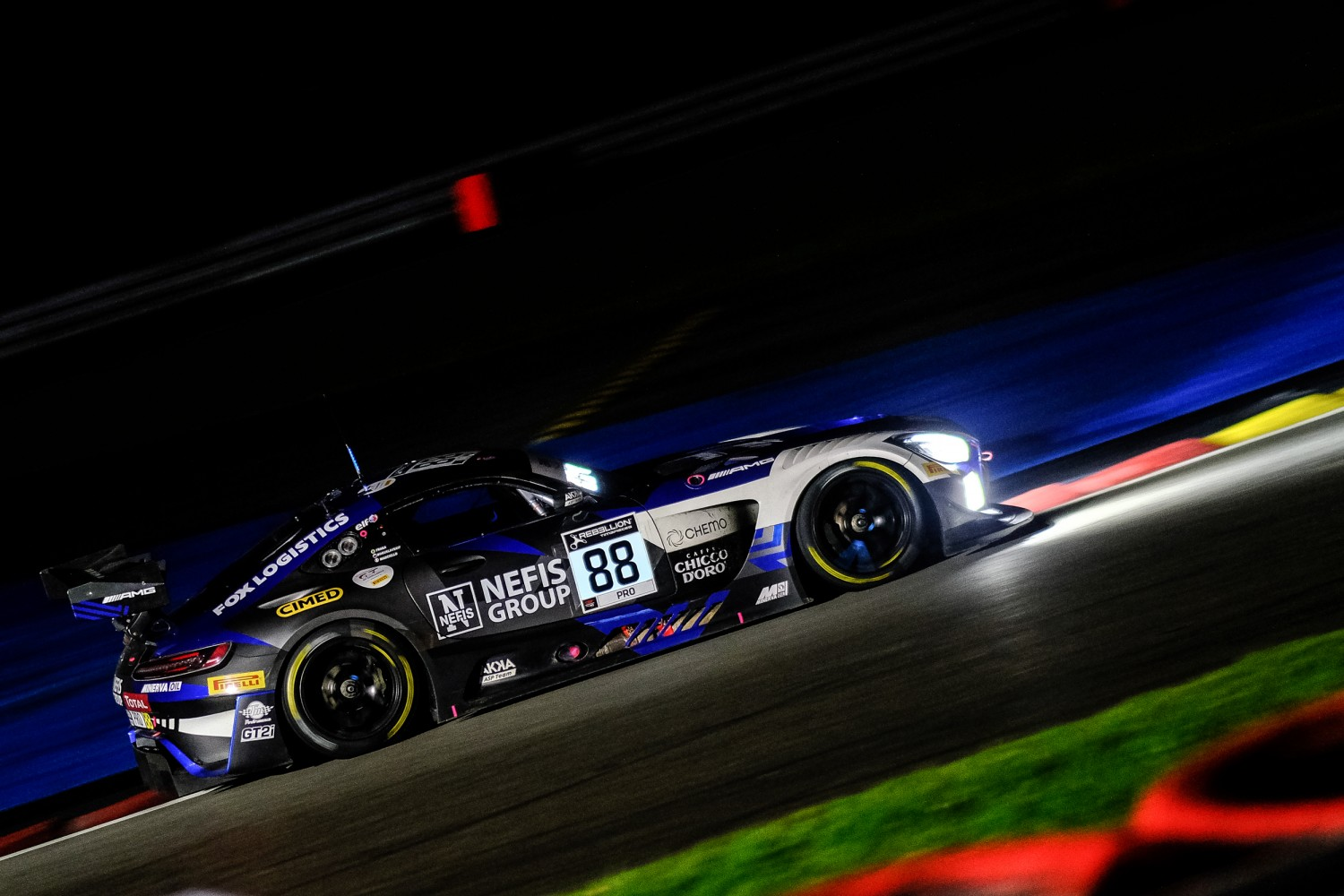 6-Hour Update: Mercedes-AMG Team AKKA ASP leads Total 24 Hours of Spa at one-quarter distance
