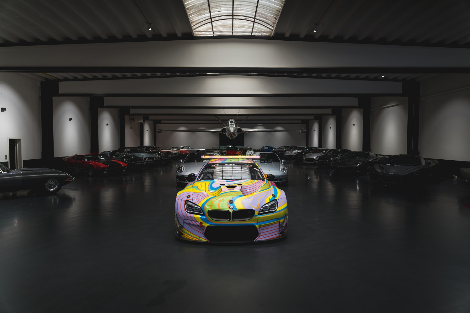 Boutsen Ginion Racing has revealed the first images of its stunning BMW M6 GT3 'art car' livery.