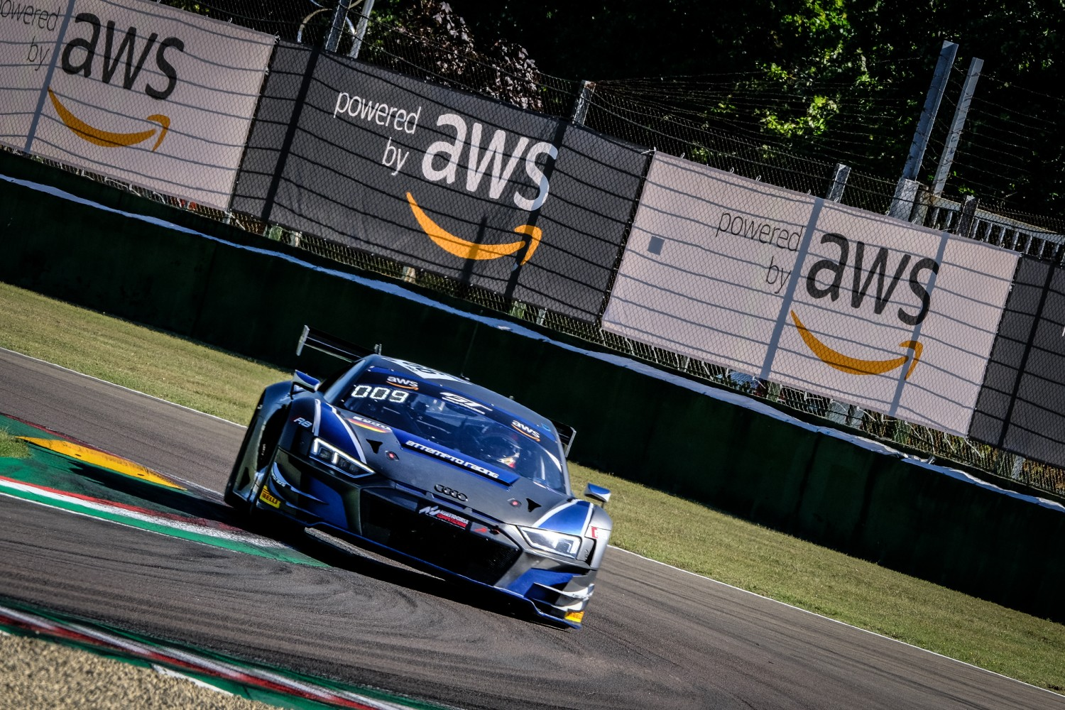Attempto Racing Audi on pole for GT World Challenge Europe Powered by AWS opener at Imola