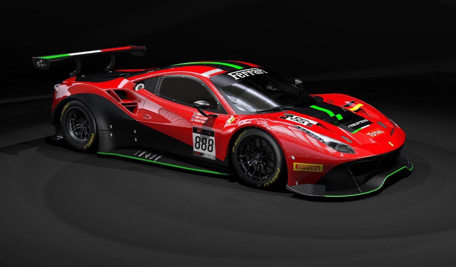 Ferrari Stalwart Rinaldi Racing Reveals 2020 Plans Fanatec Gt World Challenge Europe Powered By Aws