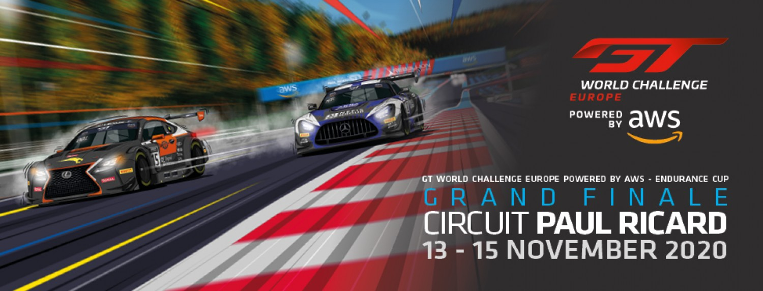 Title glory on the line as GT World Challenge Europe Powered by AWS prepares for Circuit Paul Ricard decider