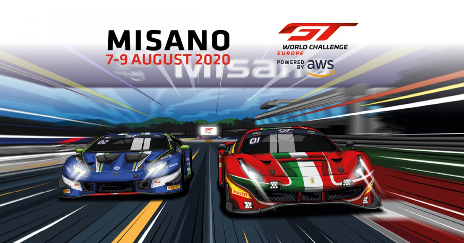 GT World Challenge Europe Powered by AWS hits full speed as Sprint Cup returns at Misano