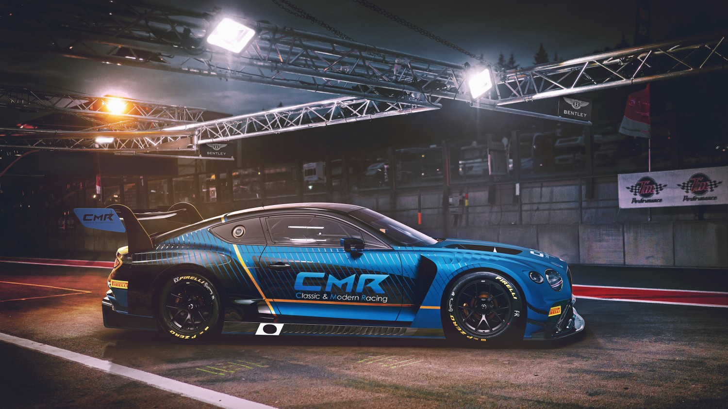 CMR confirms two-car Bentley programme for GT World Challenge Europe in 2020