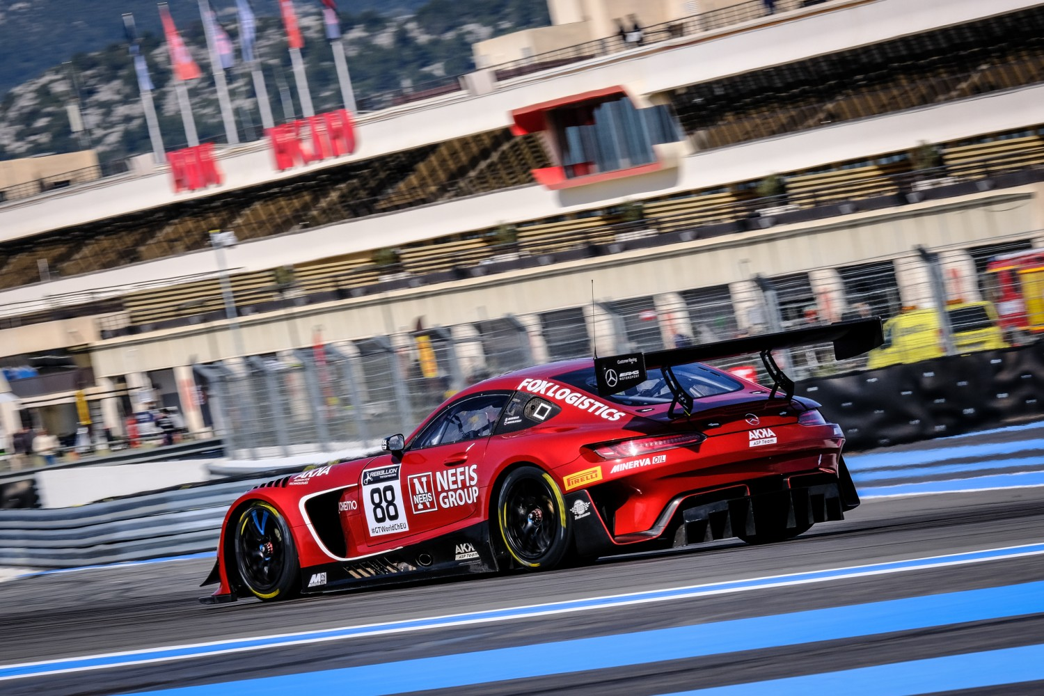 GT World Challenge Europe Powered by AWS completes pre-season test at Circuit Paul Ricard