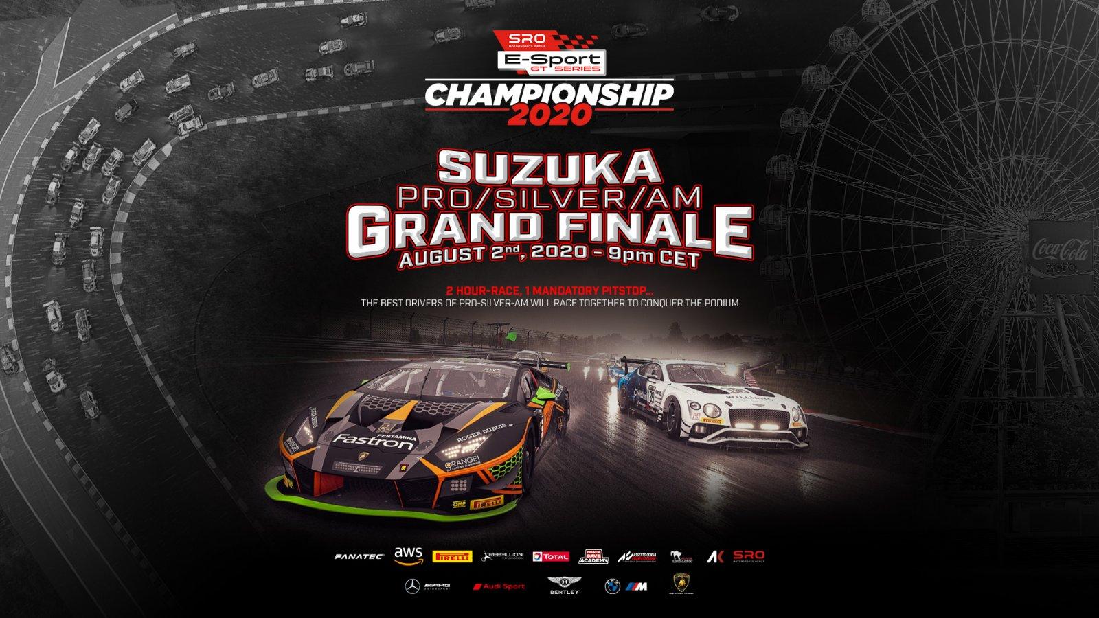 SRO E-Sport GT Series set for winner-takes-all finale at Suzuka