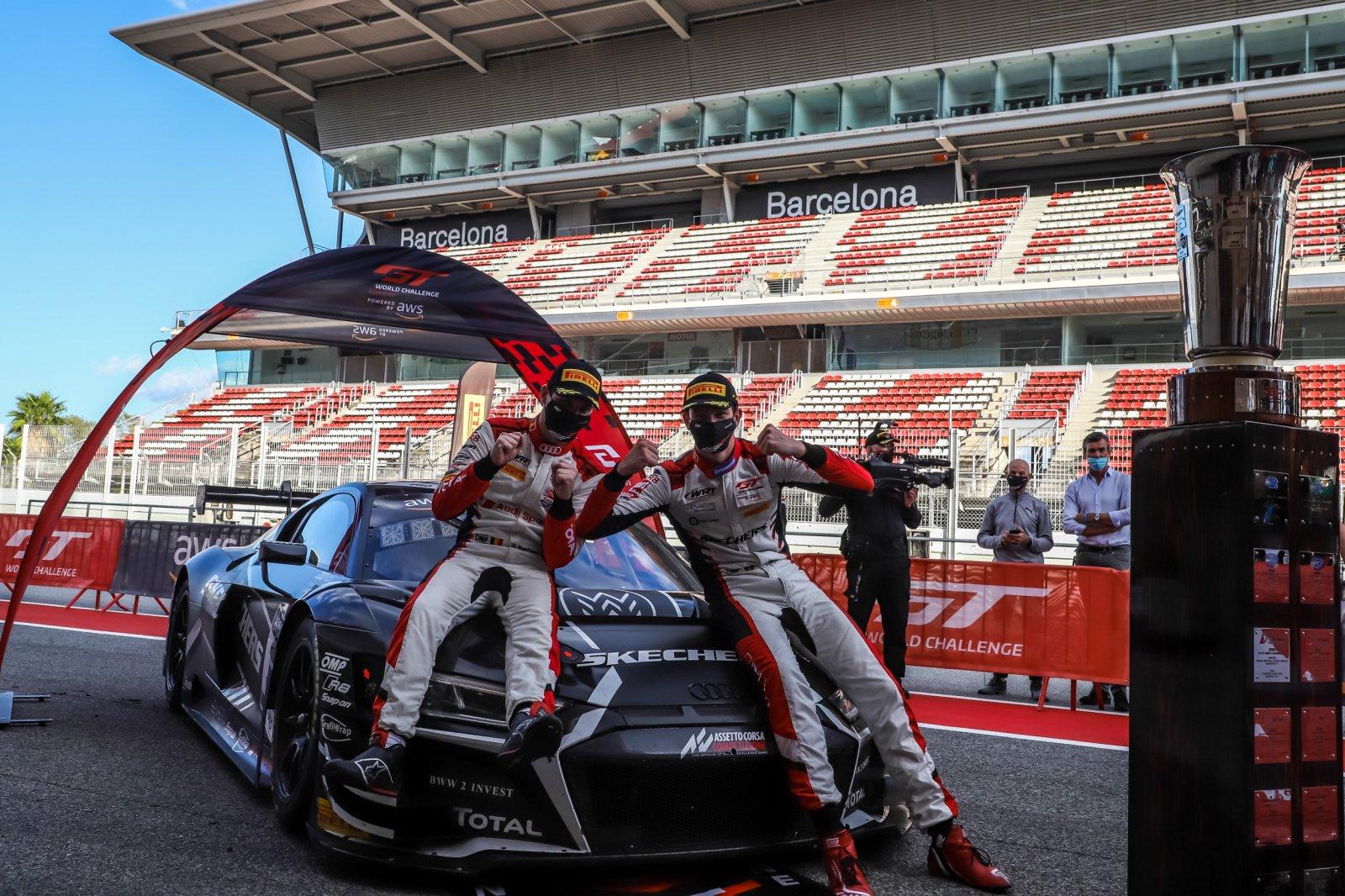 Belgian Audi Club Team WRT recaptures Sprint Cup titles as Vanthoor and Weerts seal drivers crown