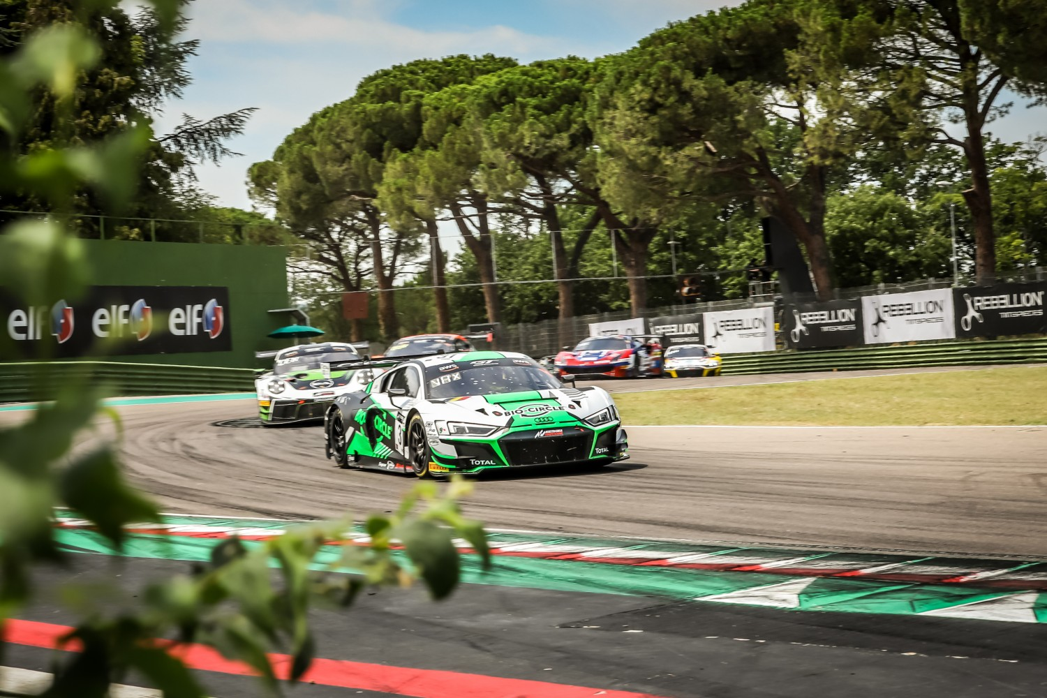 Belgian Audi Club Team WRT back on the top step as GT World Challenge Europe Powered by AWS returns at Imola