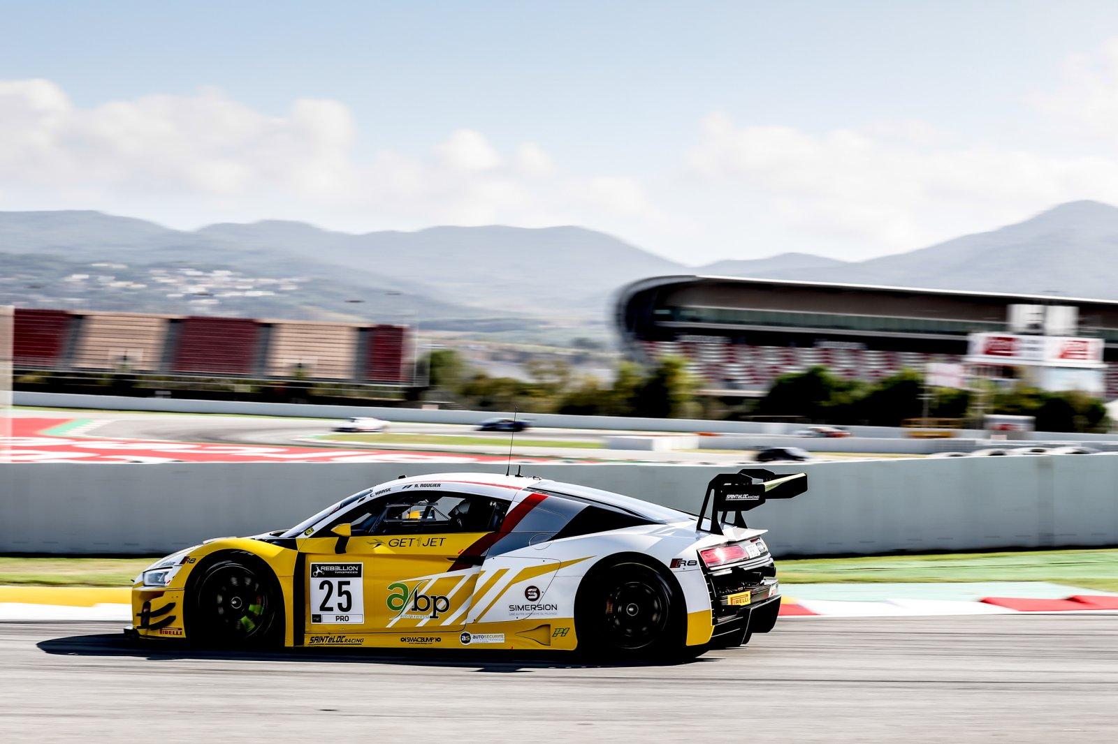 Sainteloc Audi tops opening Barcelona practice as Sprint Cup decider gets underway